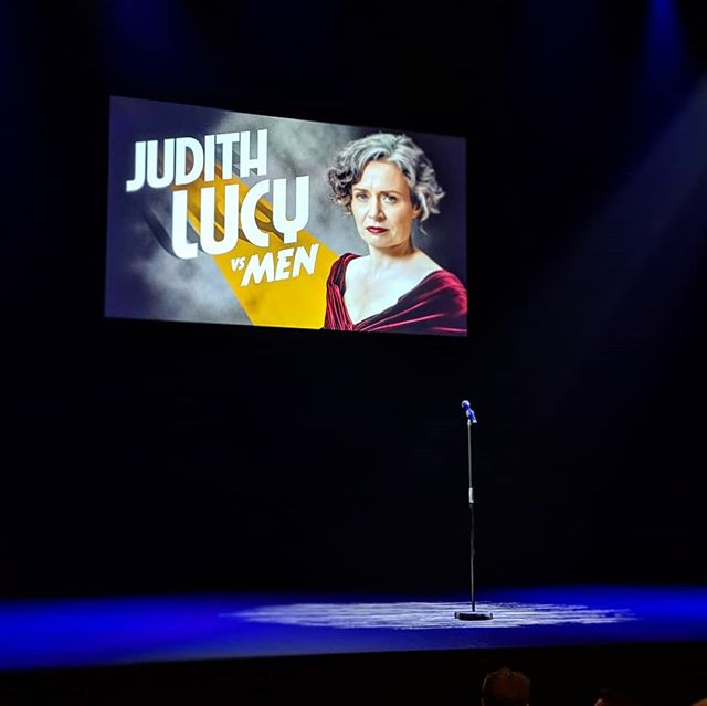 Judith Lucy's latest show is fantastic - you should definitely go watch it! #MICF2019