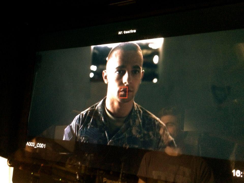 John Brodsky on the monitor.