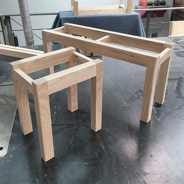 Dry fit complete. . #joinery #furniture #furnituredesign