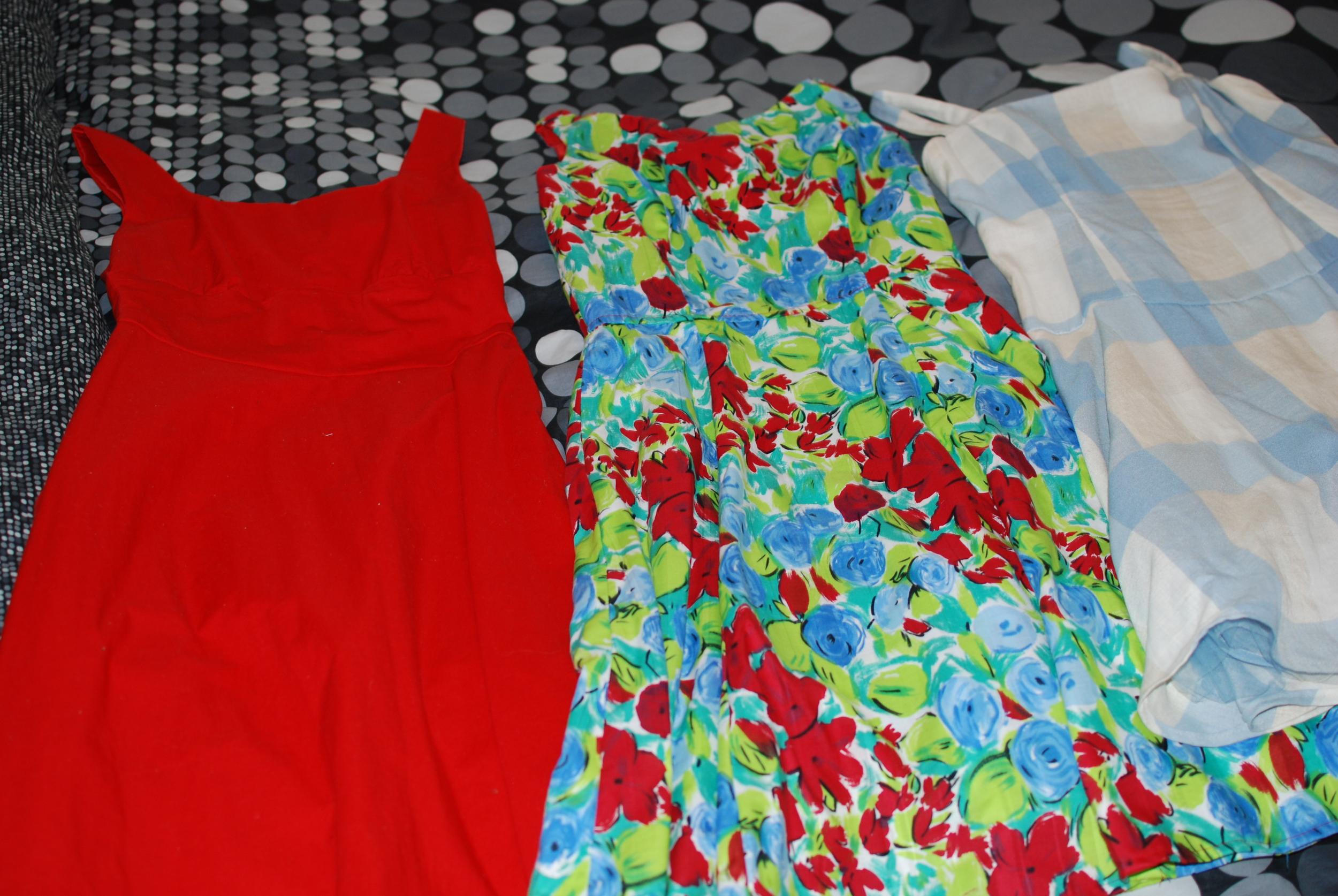 The Trio of Dresses
