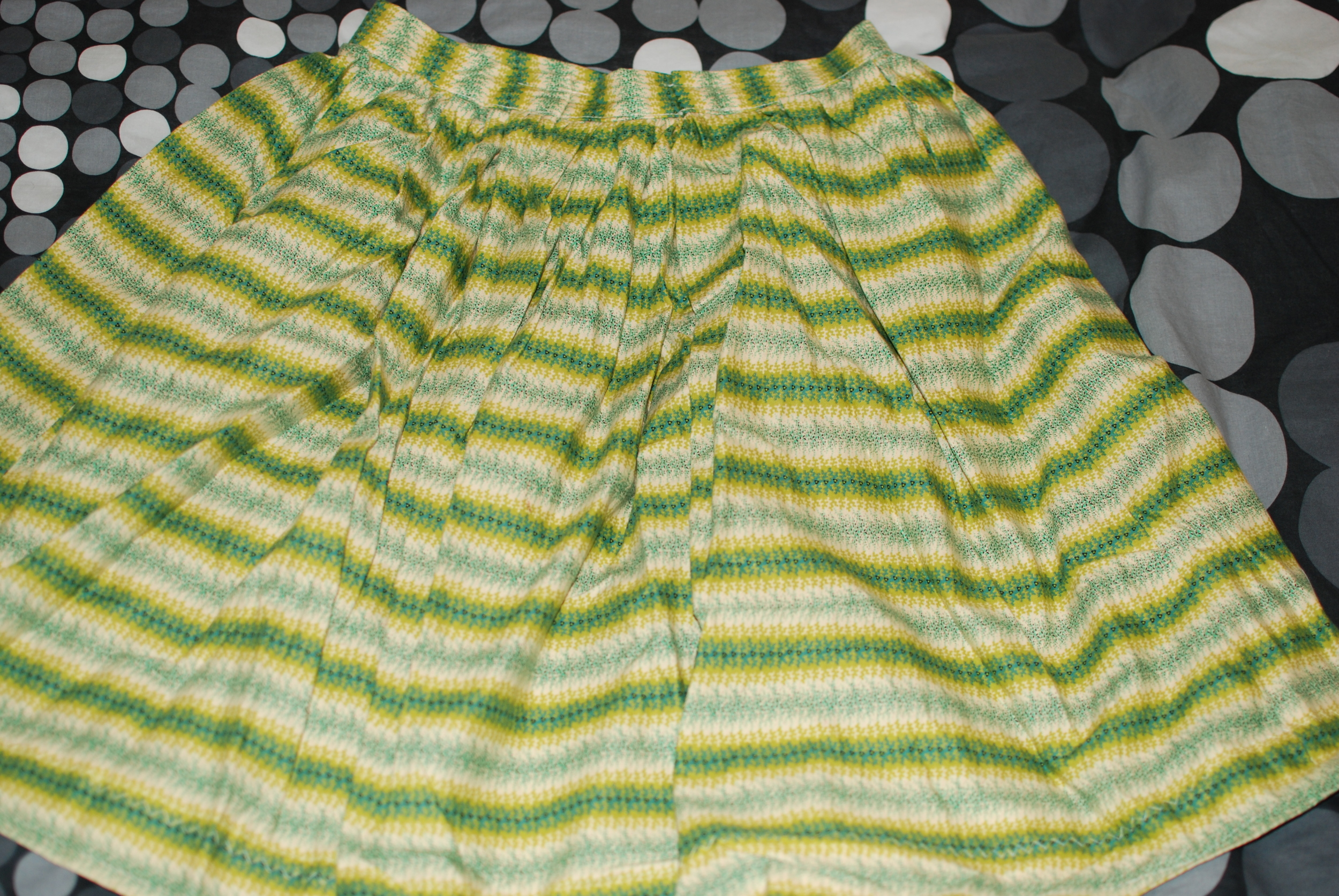 The First Skirt