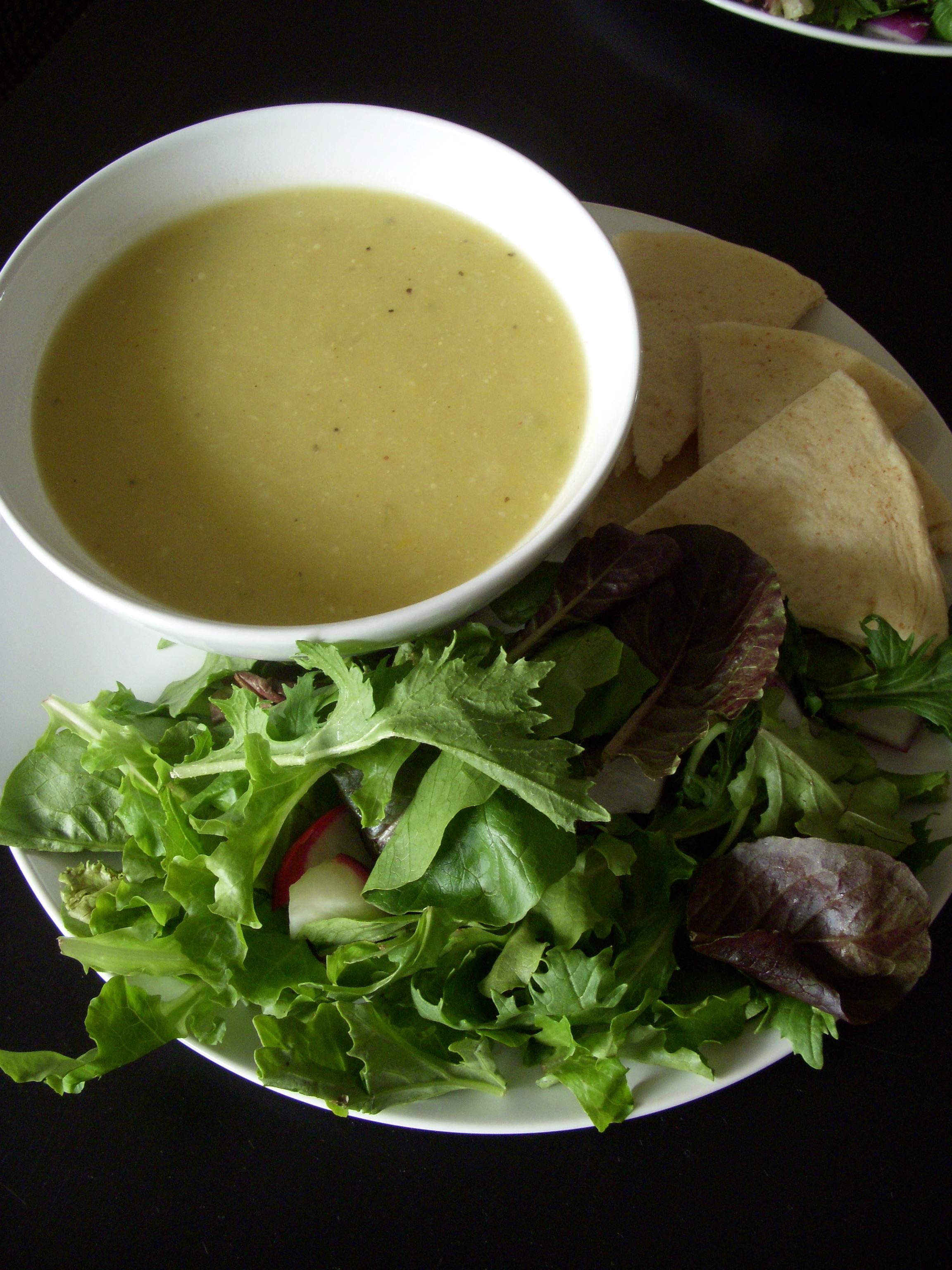 Zucchini and Squash Soup
