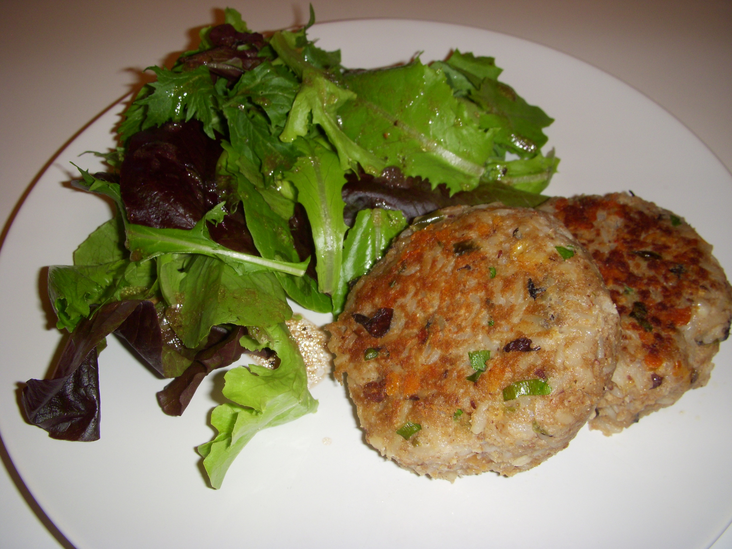 Bean and Rice Patties