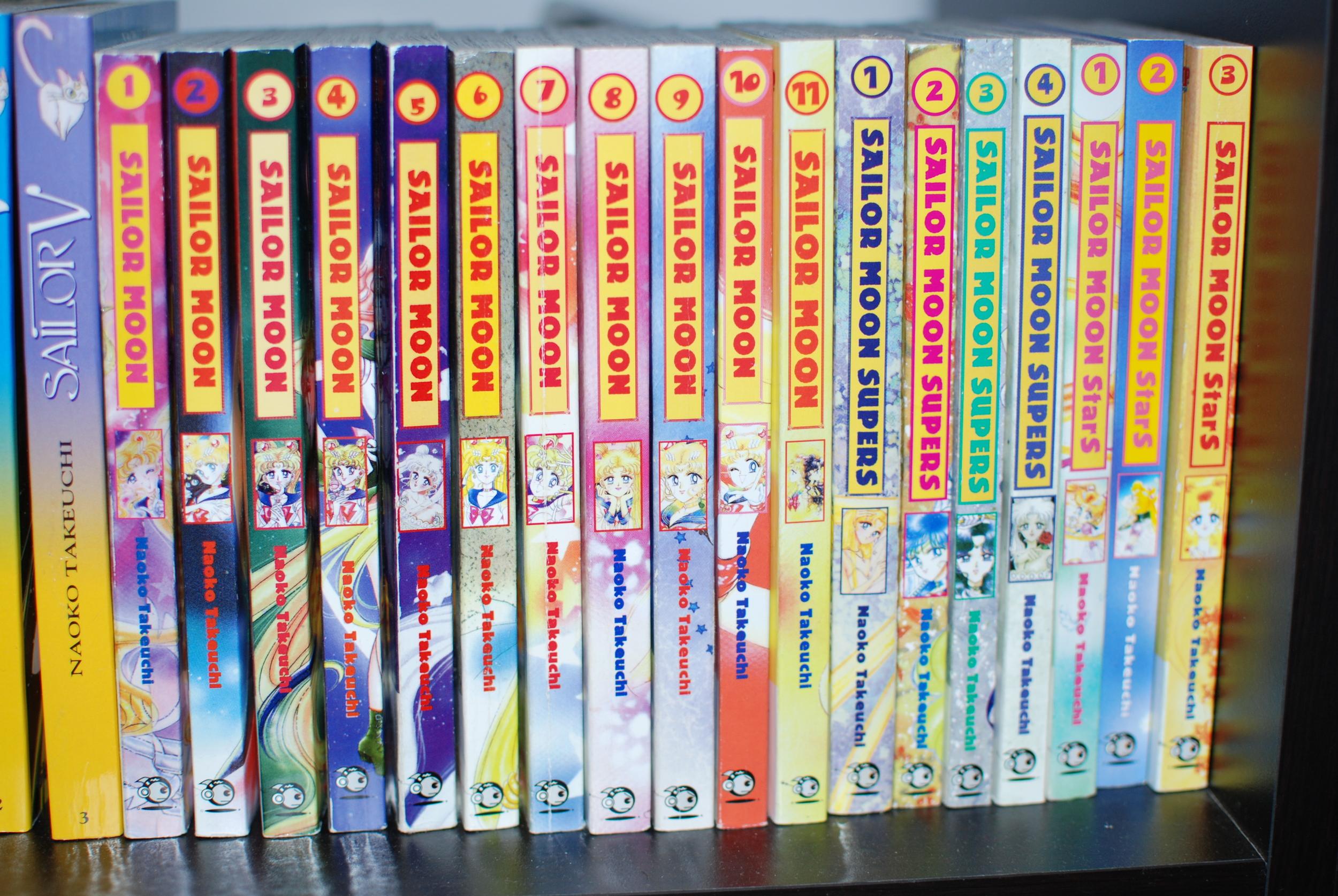 The Sailor Moon Manga Collection