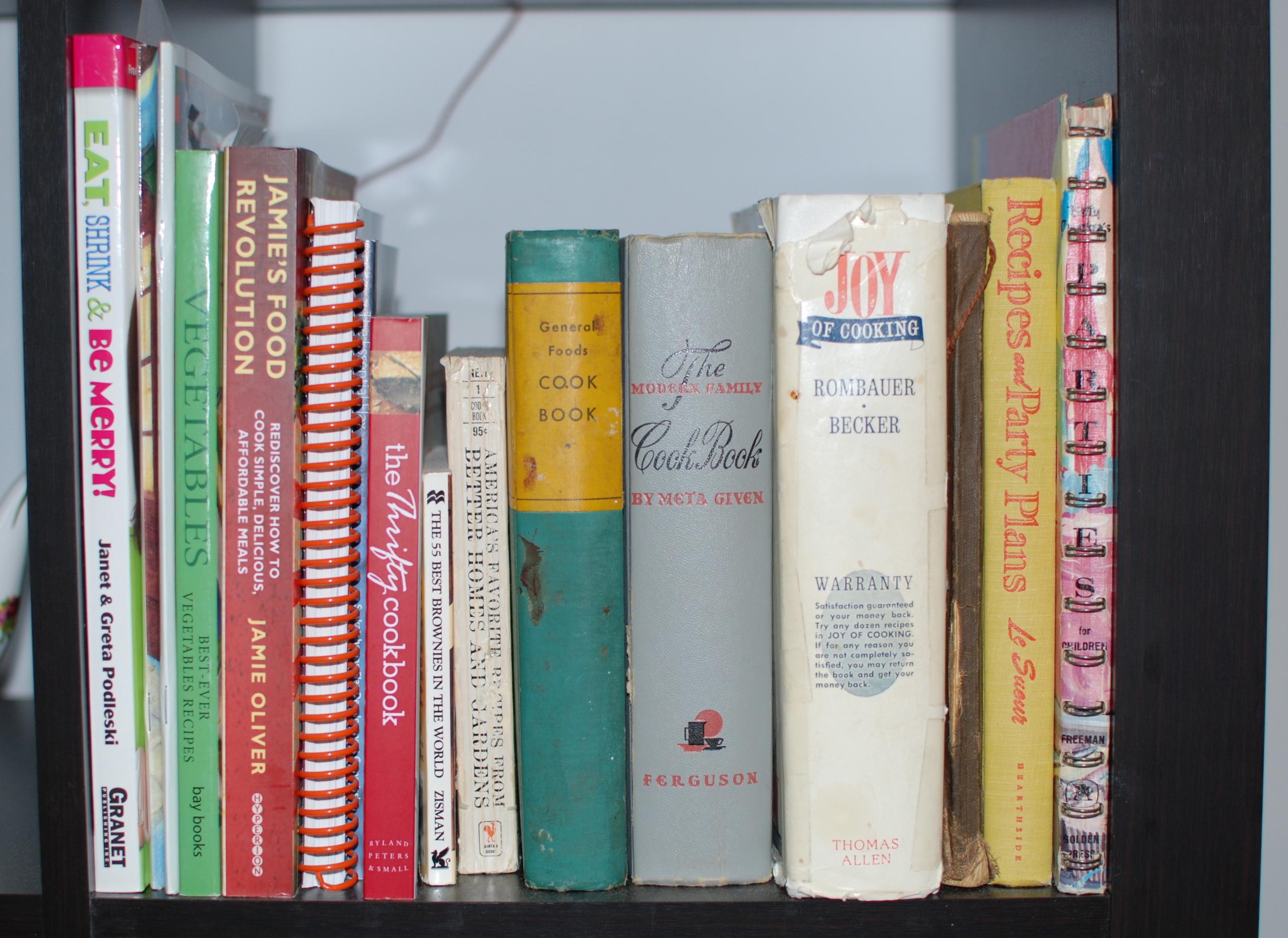 Cookbooks Through the Ages
