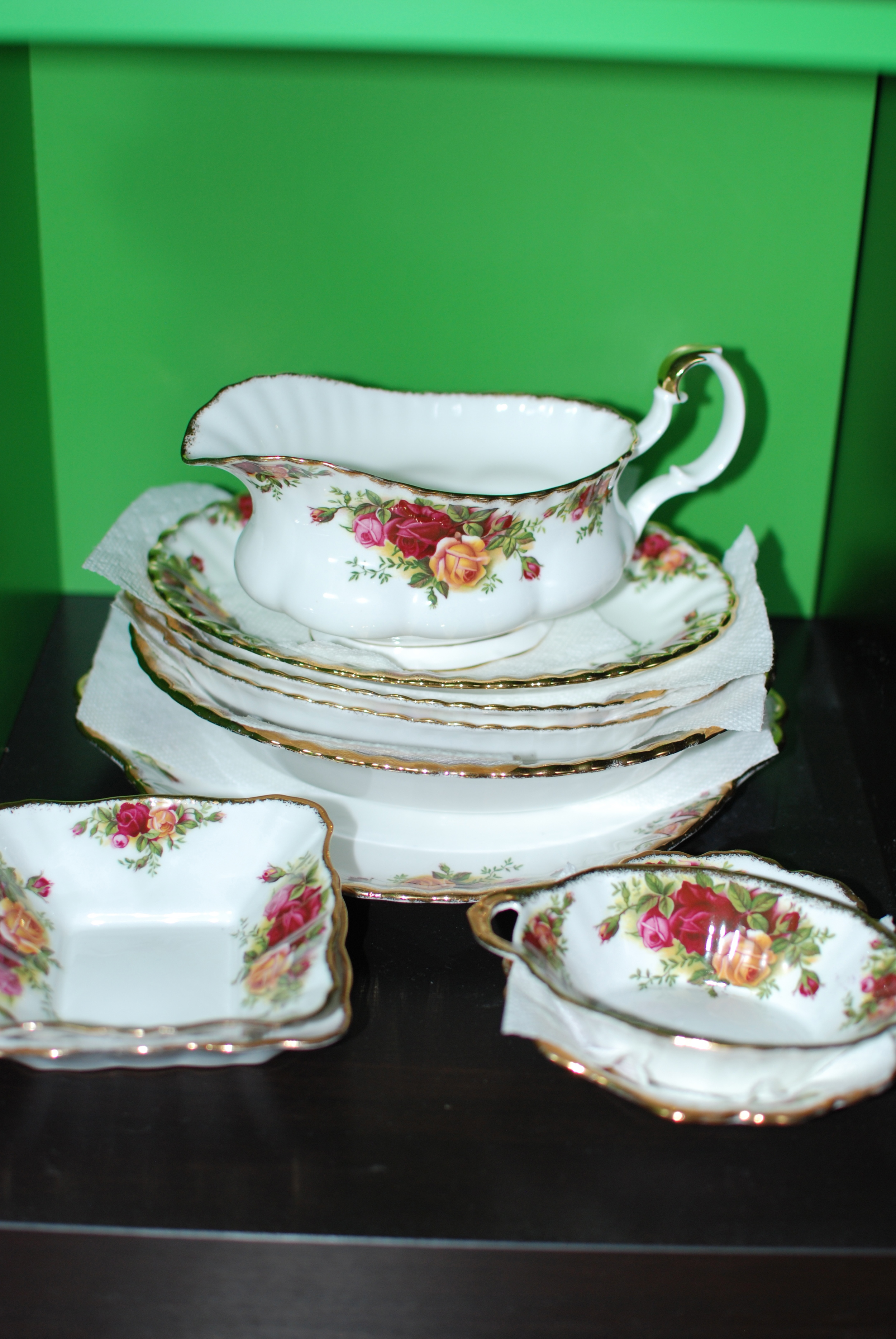 The Serving Dishes