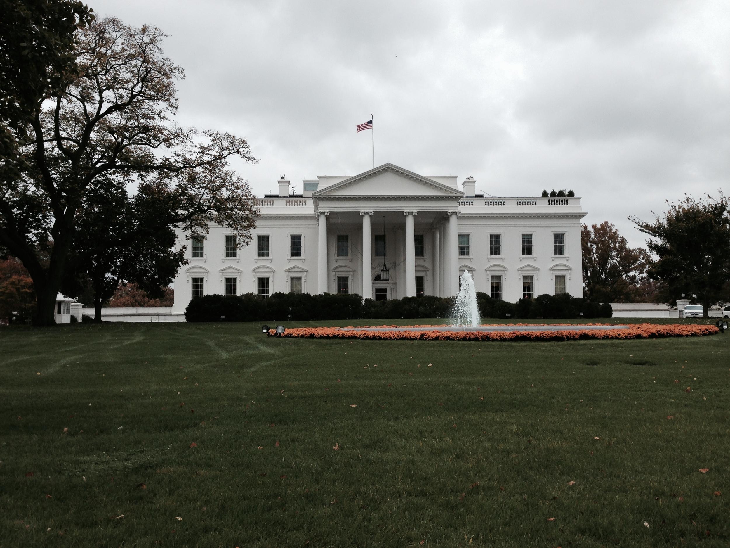 White House back door!