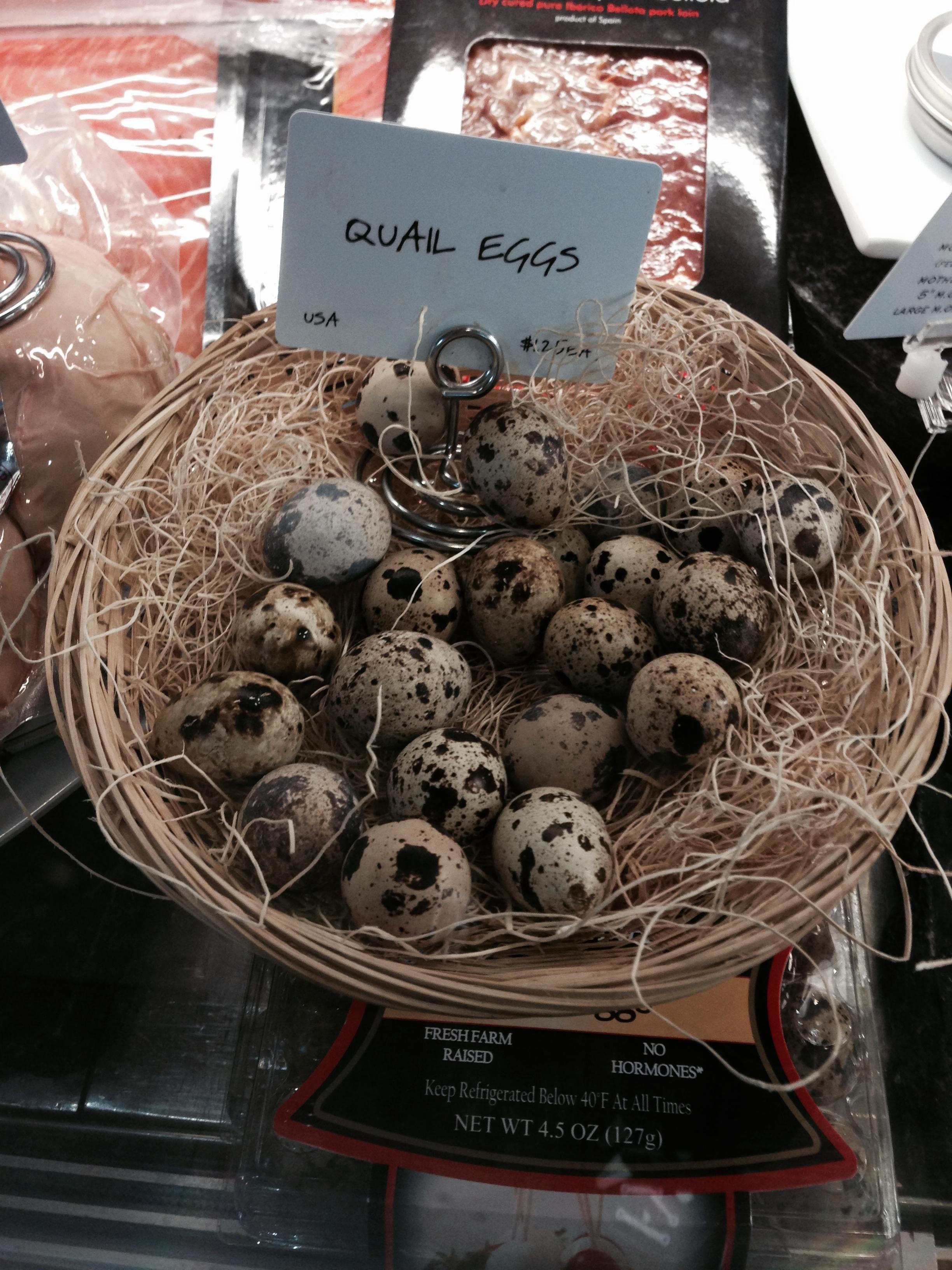 Quails eggs?