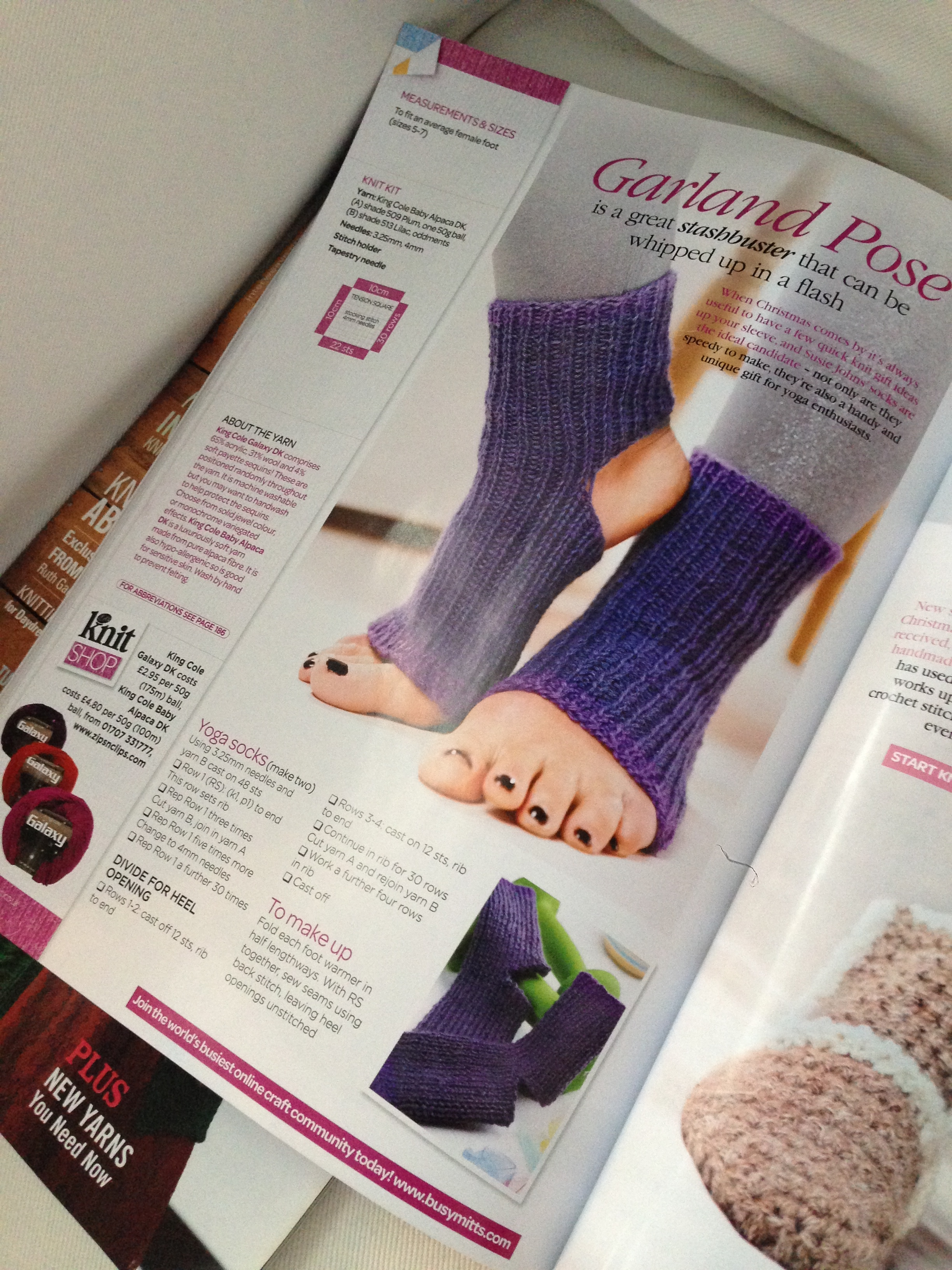 Enter Yoga Socks!