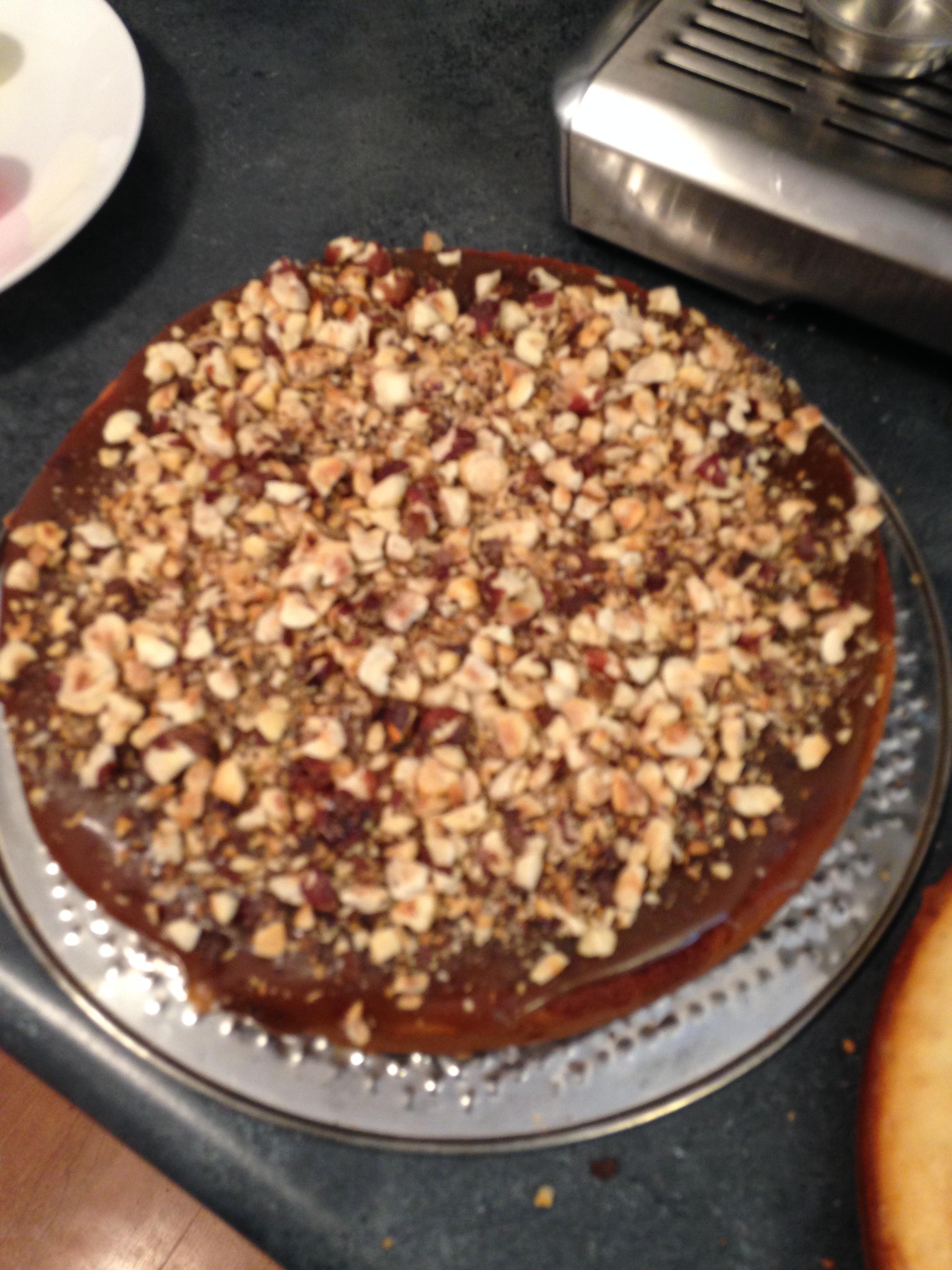 Caramel and Toasted Hazelnut Filling
