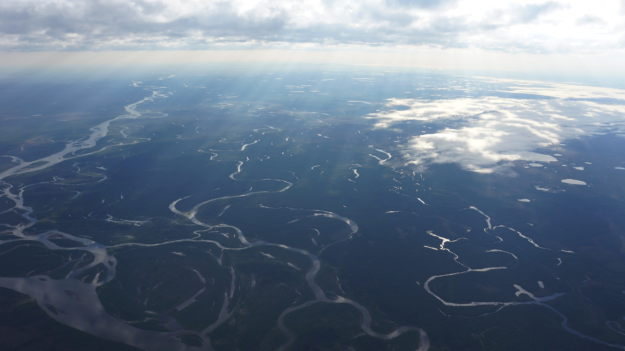 The Nushagak Watershed. These are the rivers where the salmon have returned to spawn every year for thousands of years. The habitat is pristine and the water clear and cold. It is threaded ornately with rivers...