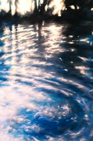 """ghost of the southern blue II 24""""x36"""""""