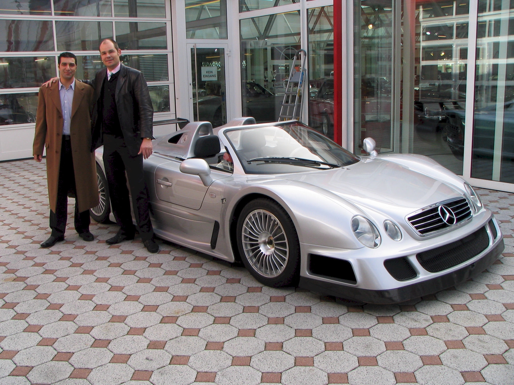 2002 Mercedes-Benz CLK-GTR Roadster
