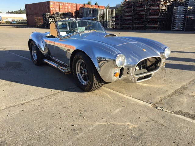 1965 Shelby American Cobra 427 polished Aluminum version 50th Anniversary - SOLD -