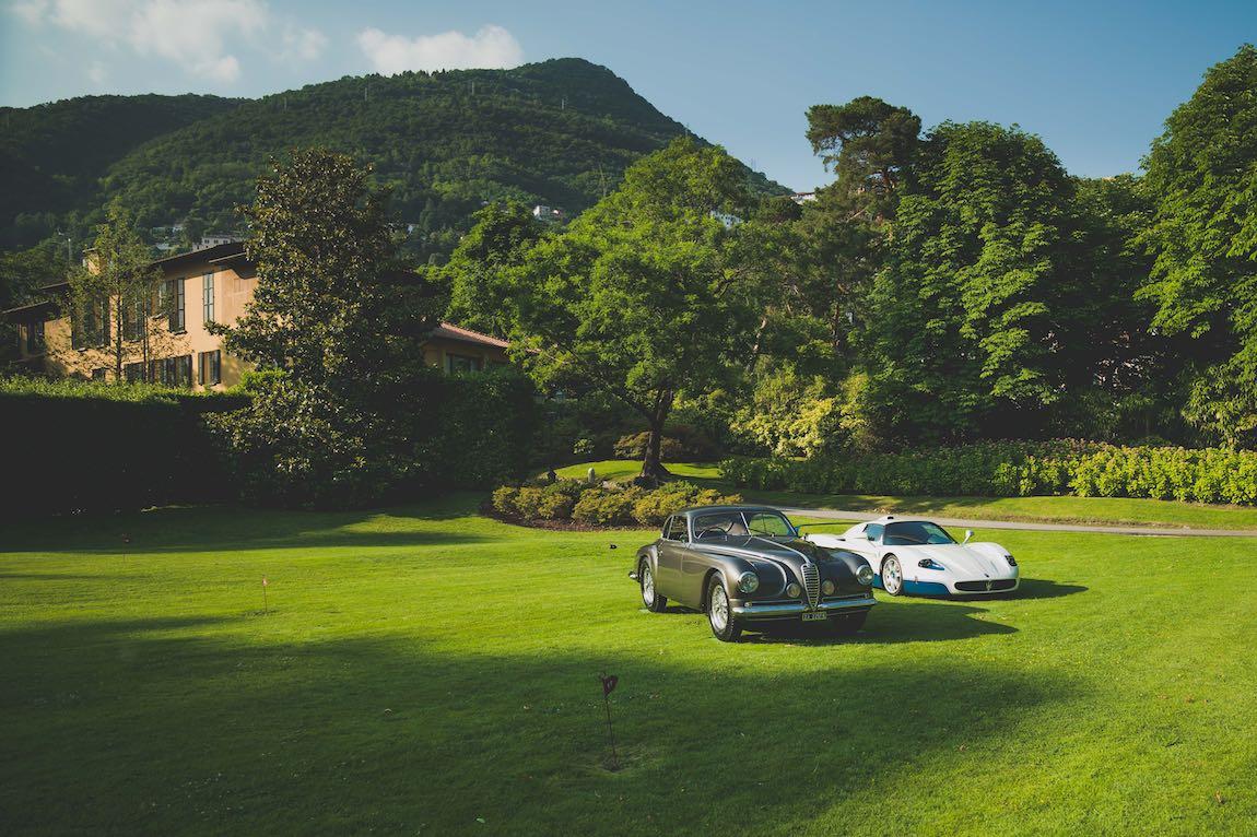 Alfa Romeo 6C 2500 SS Villa d'Este and Maserati MC12