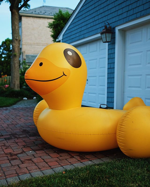 Cheers to the duckin' weekend.