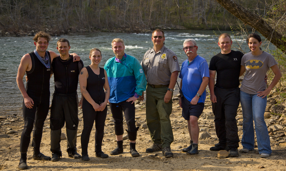 Haggard rafting crew after 48hrs and 30 miles of river.