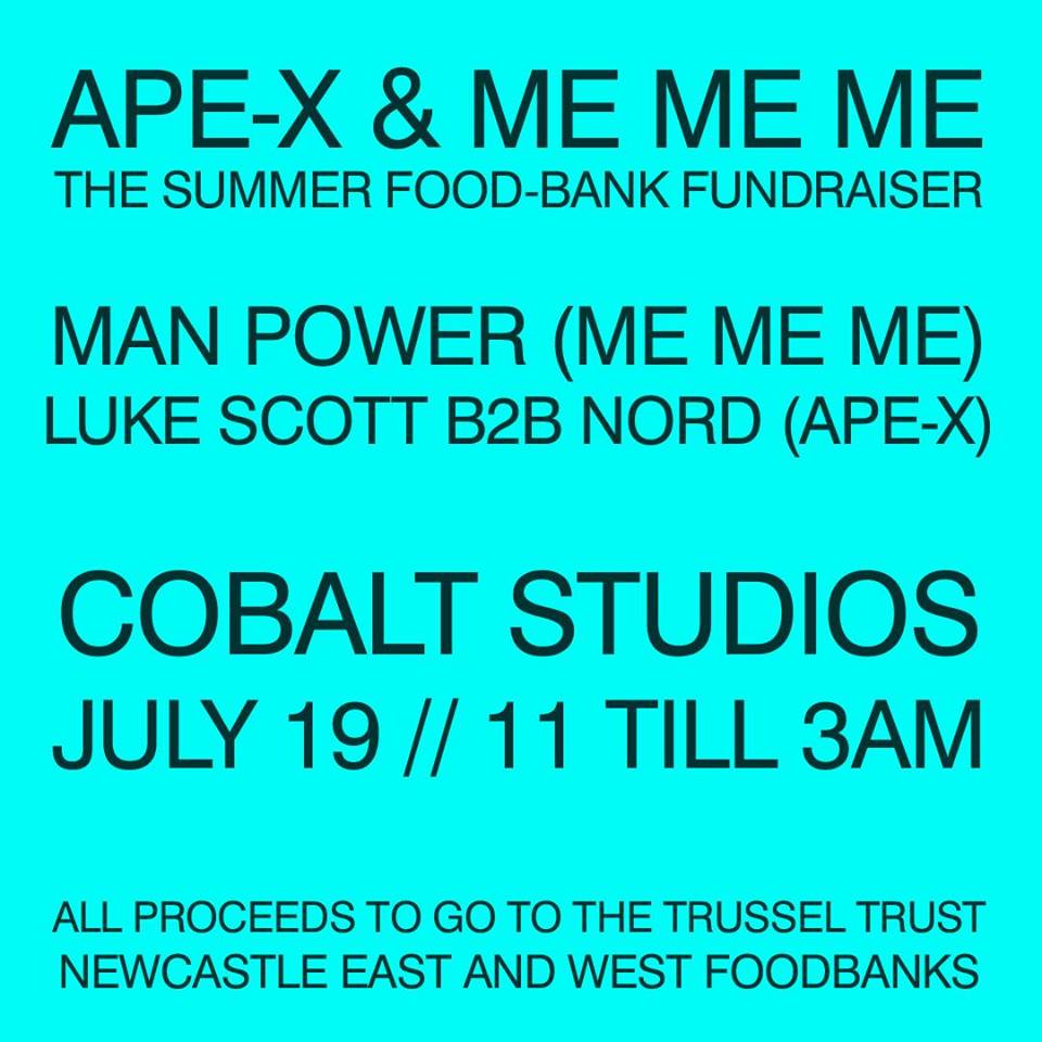 Ape X Me Me Me The Summer Food Bank Fundraiser 3am