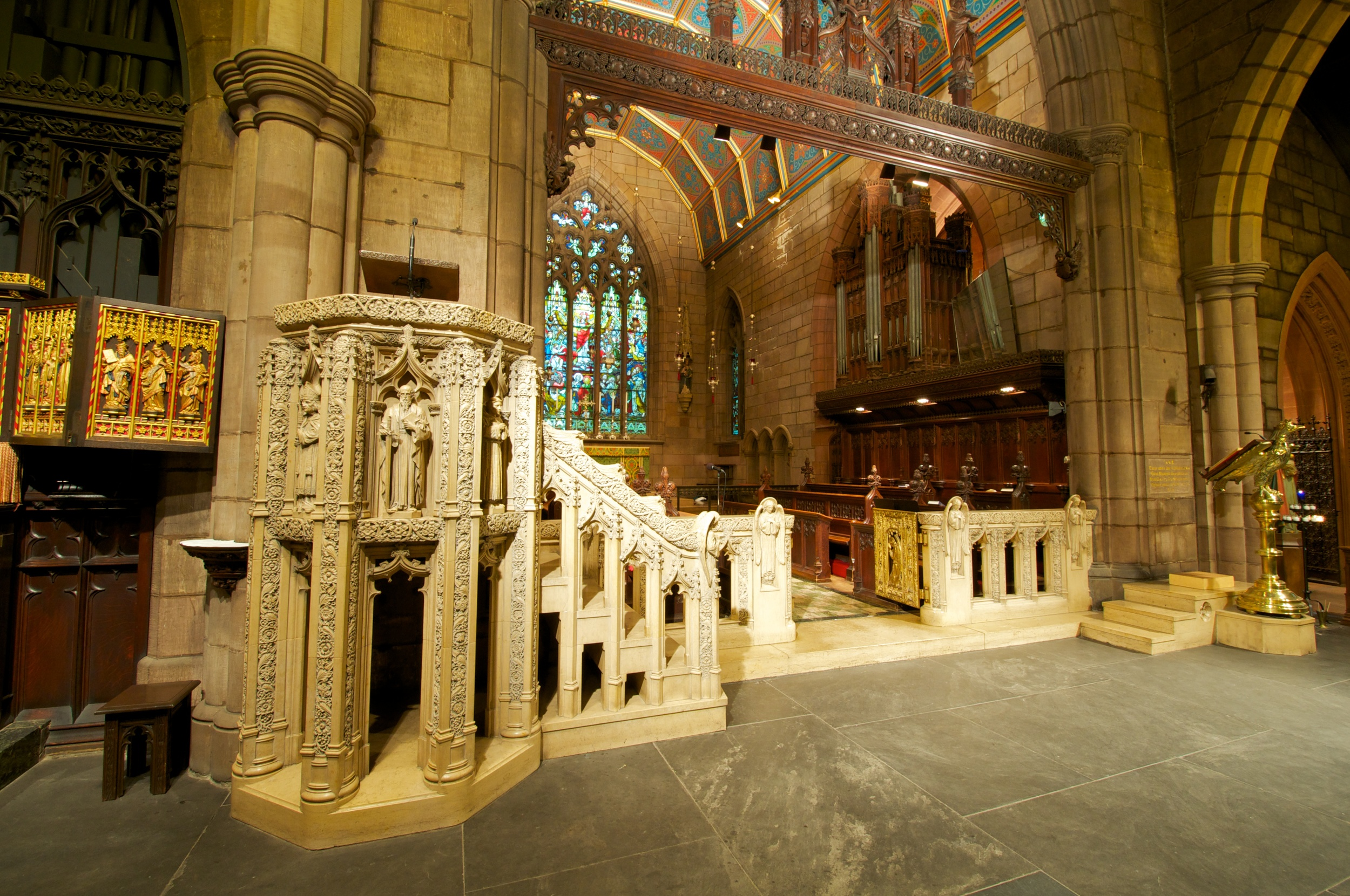 The Pulpit and Chancel Gate