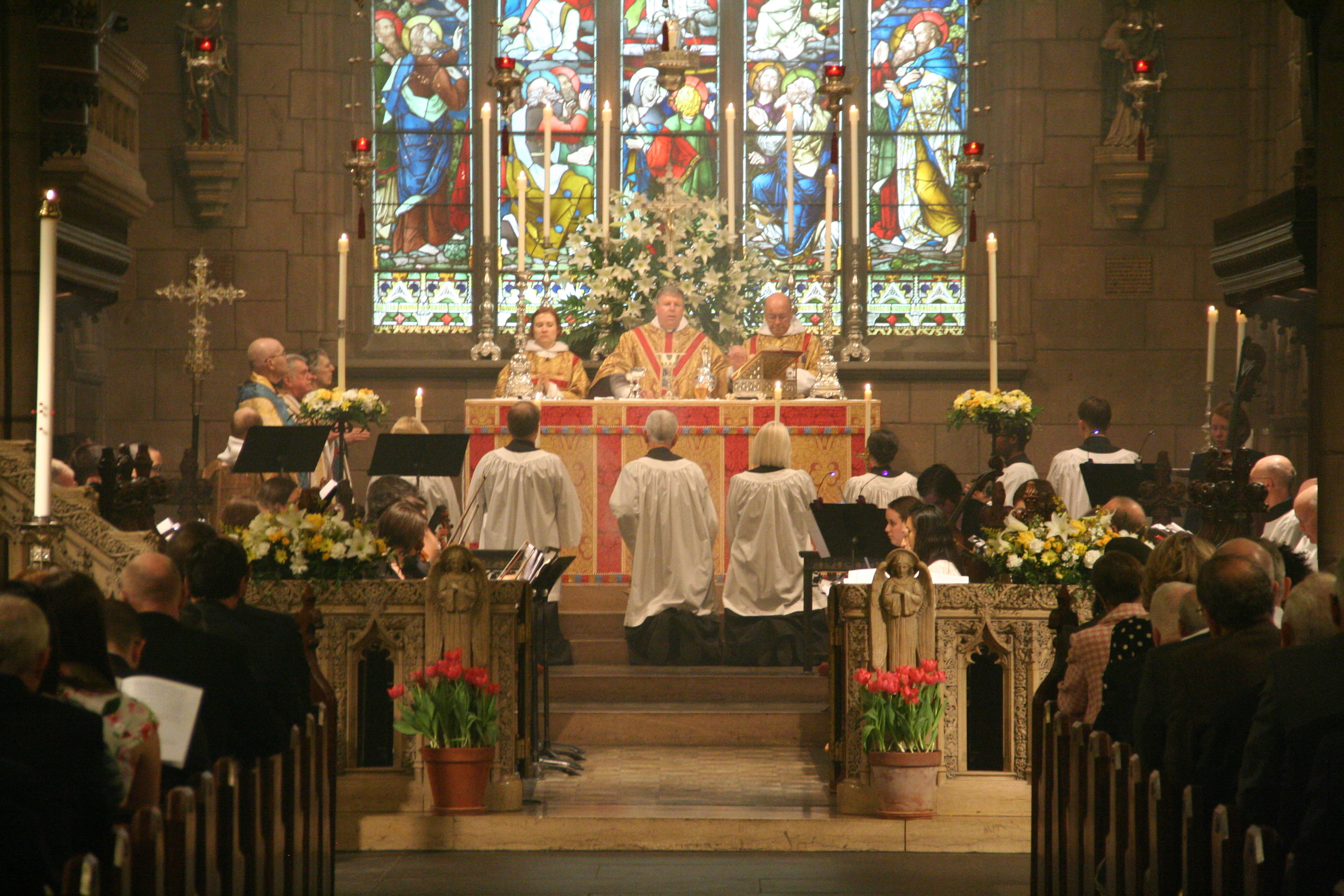 HIgh Mass on Easter morning