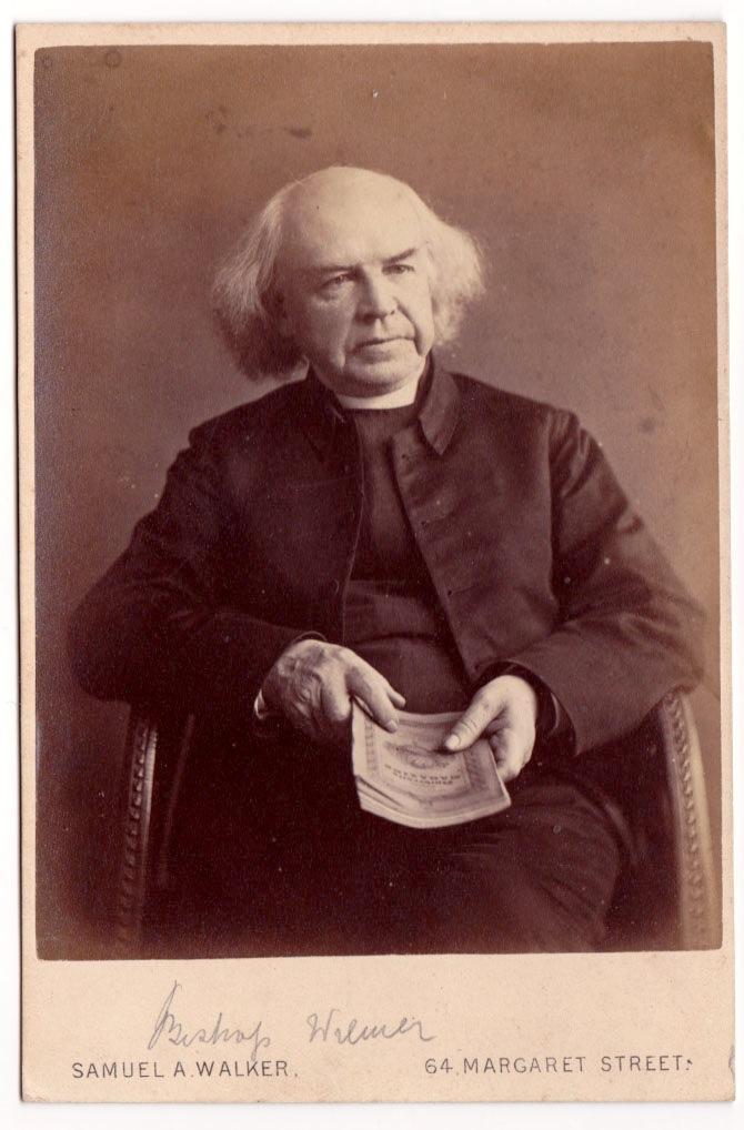 Joseph Wilmer, first rector of Saint Mark's.
