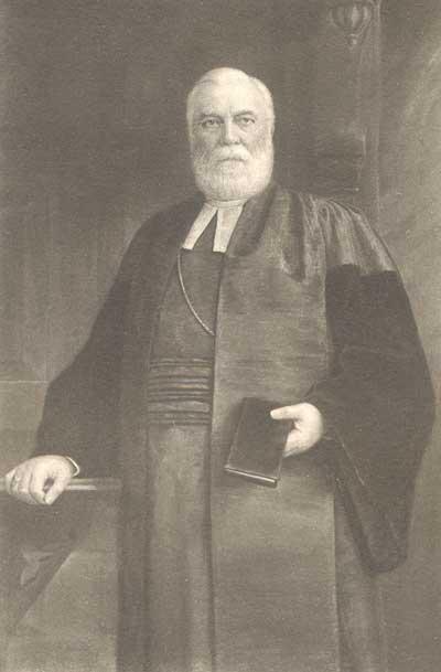 Eugene Hoffman, one of Saint Mark's more influential rectors.