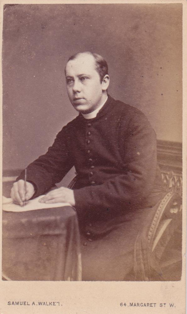 Saint Mark's sixth rector, Alfred Mortimer.
