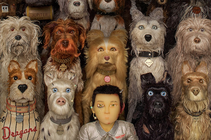 The dogs from  Isle of Dogs , along with their little pilot, Atari.