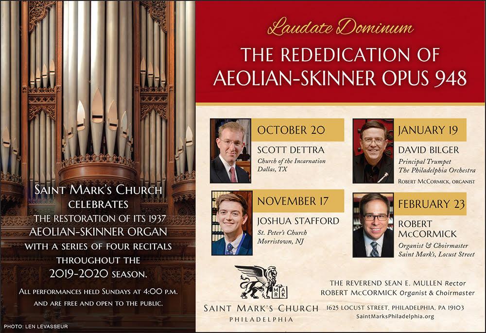 Laudate Dominum: The Rededication of Aeolian-Skinner, Opus