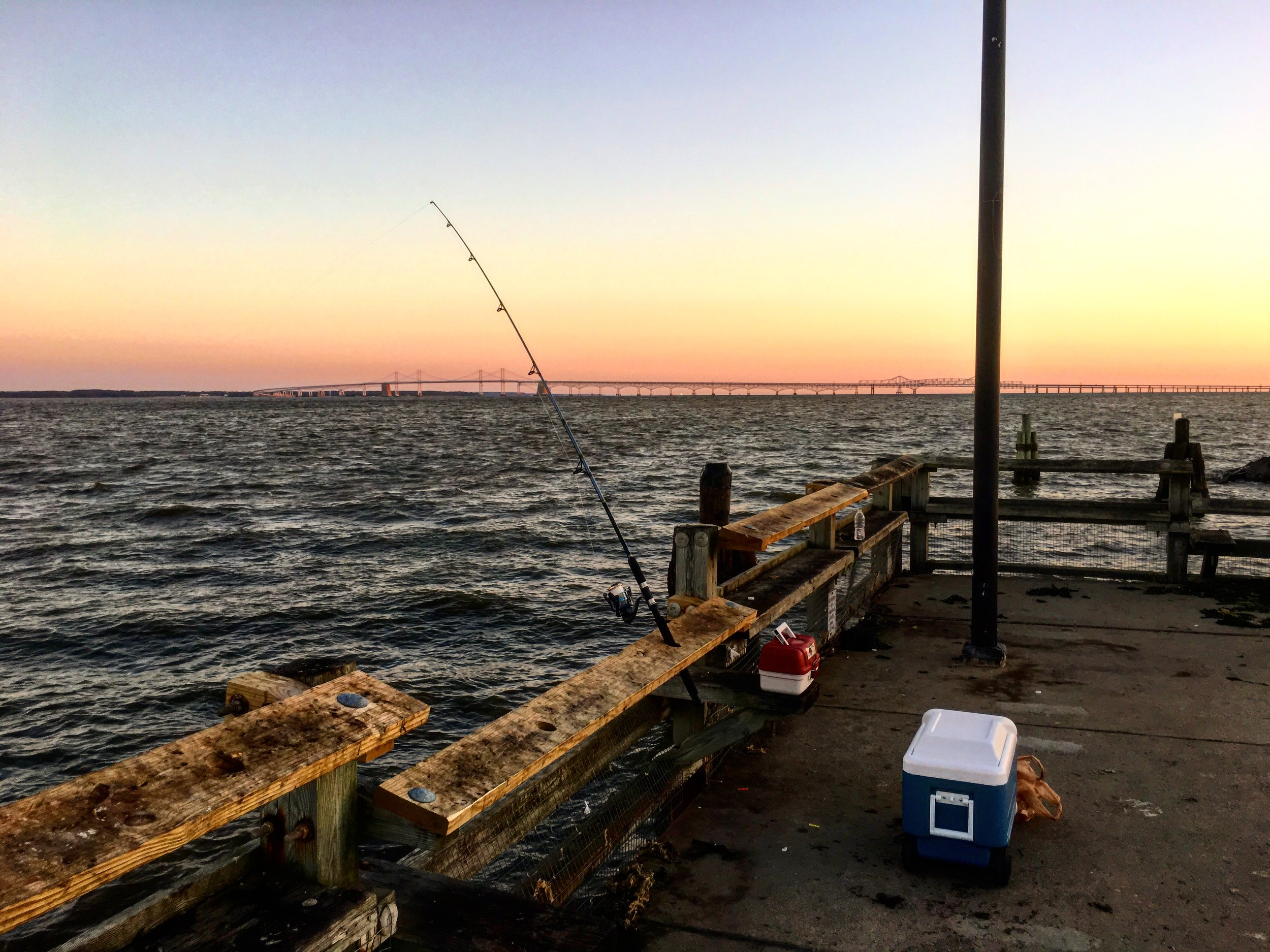 Sometimes all I need is to pack my fishing gear and just go. No planning no fuss, just a simple in the spur of the moment decision. That will definitely make me happy, even if I didn't catch a single fish.
