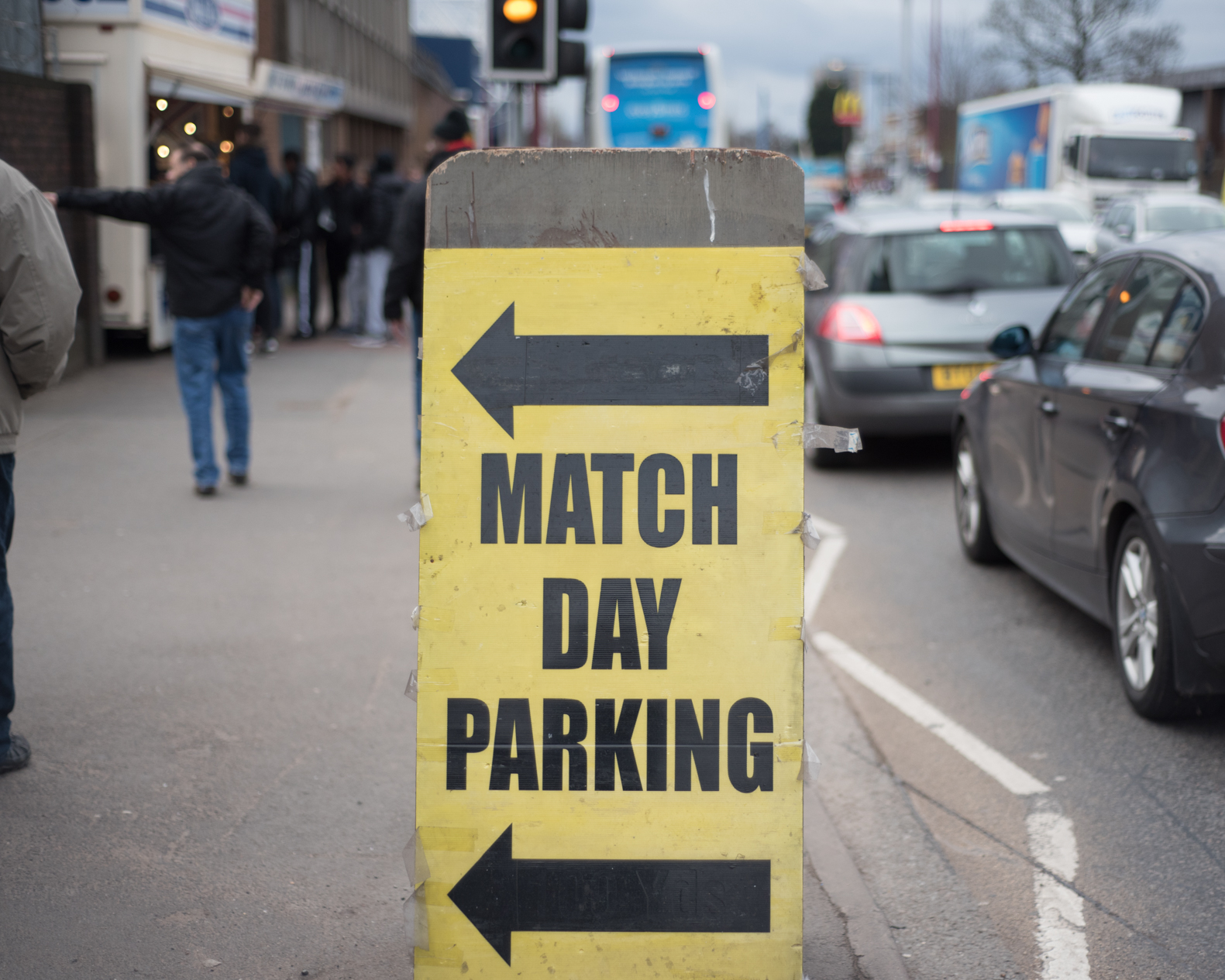 ⬅︎  Match Day Parking  ⬅