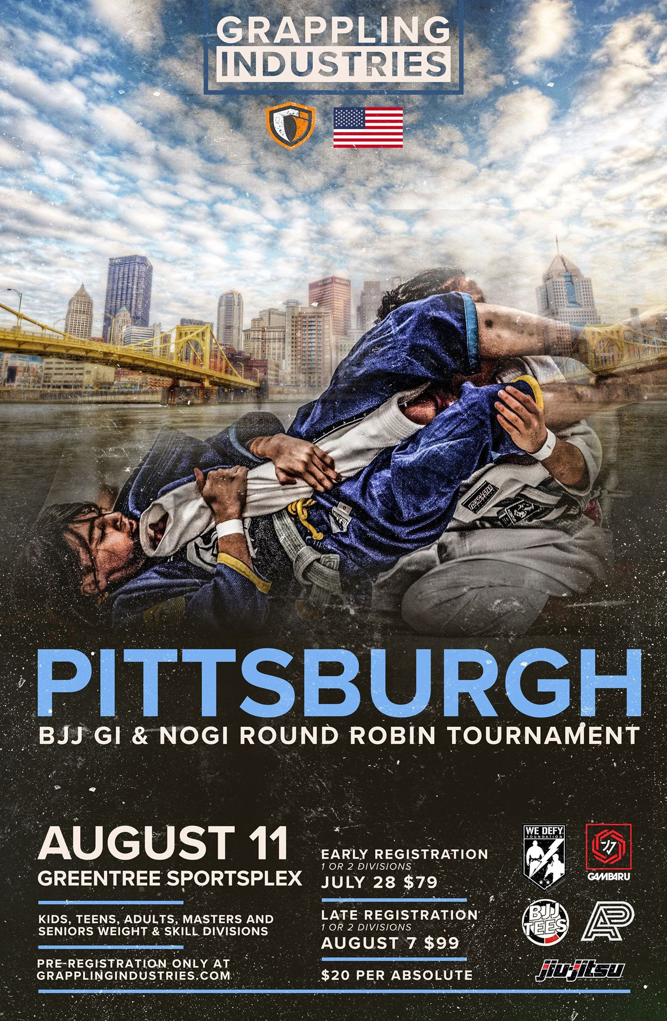 Grappling Industries Returns to Pittsburgh — Pittsburgh Jiu