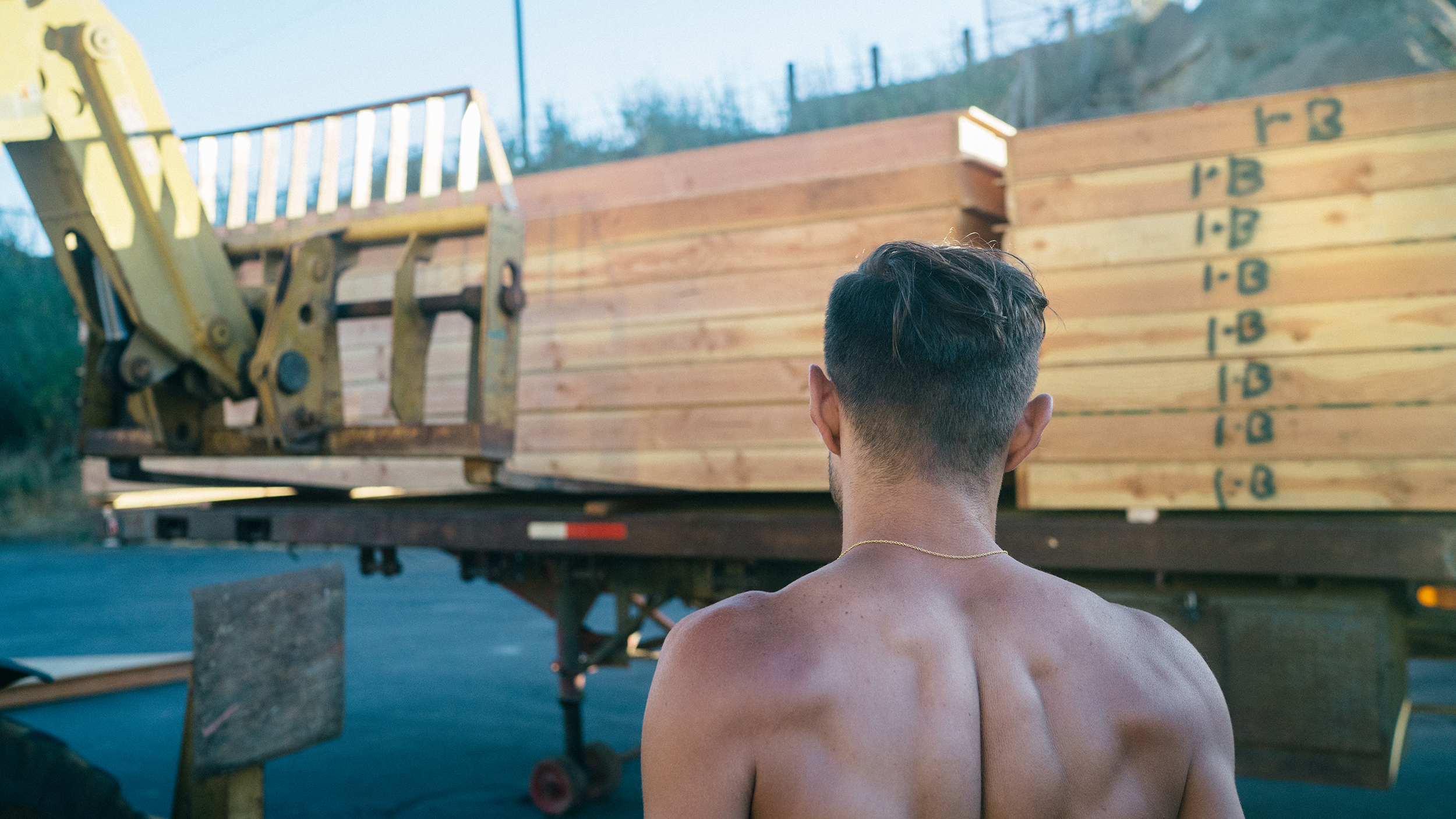 Loading the first shipment for the Playa for Catacomb of Veils. Photo by Afonso Salcedo.