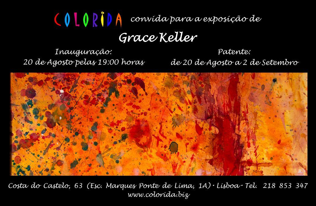 If you're in Portugal be sure to stop by and see my work in person.