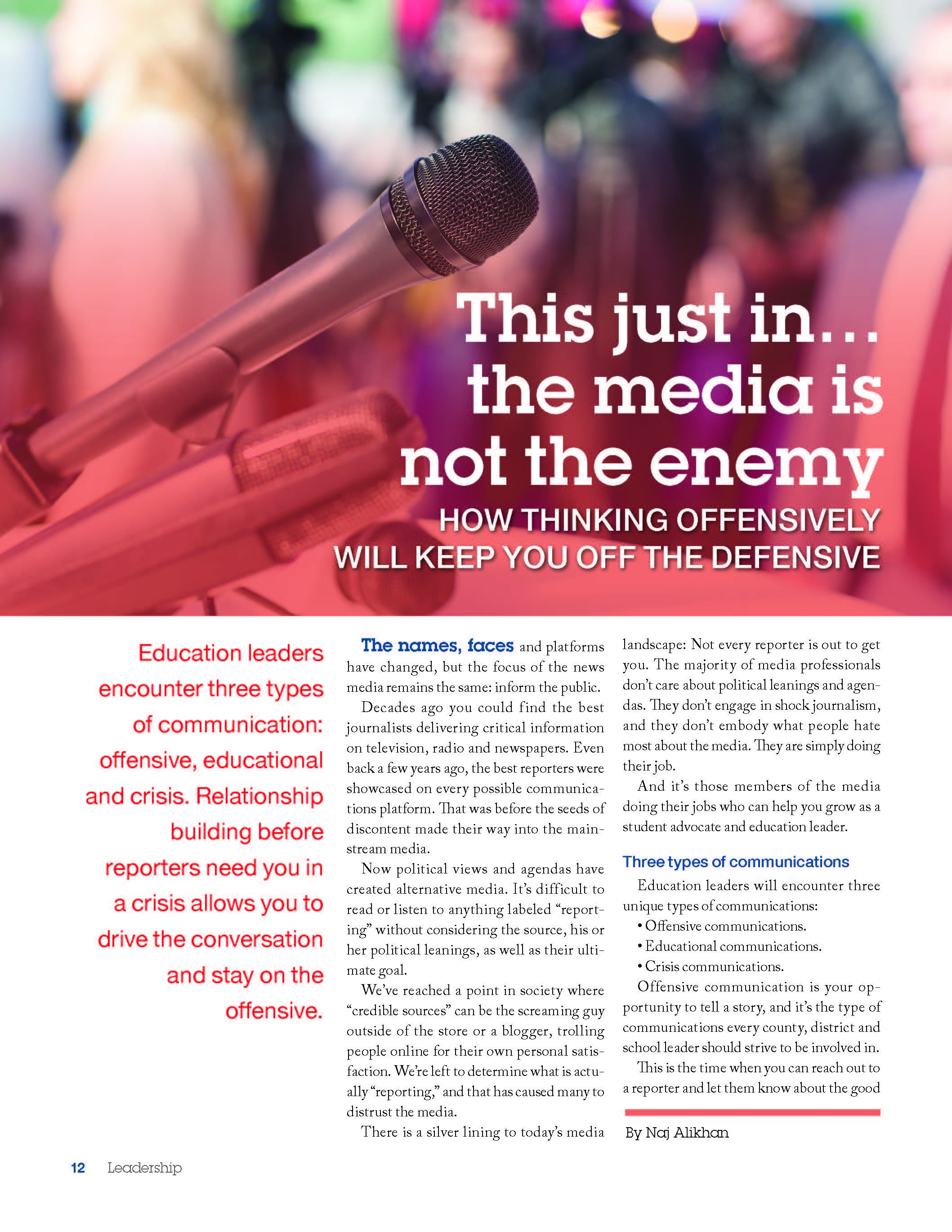 Leadership Magazine-volume 46; page one of three