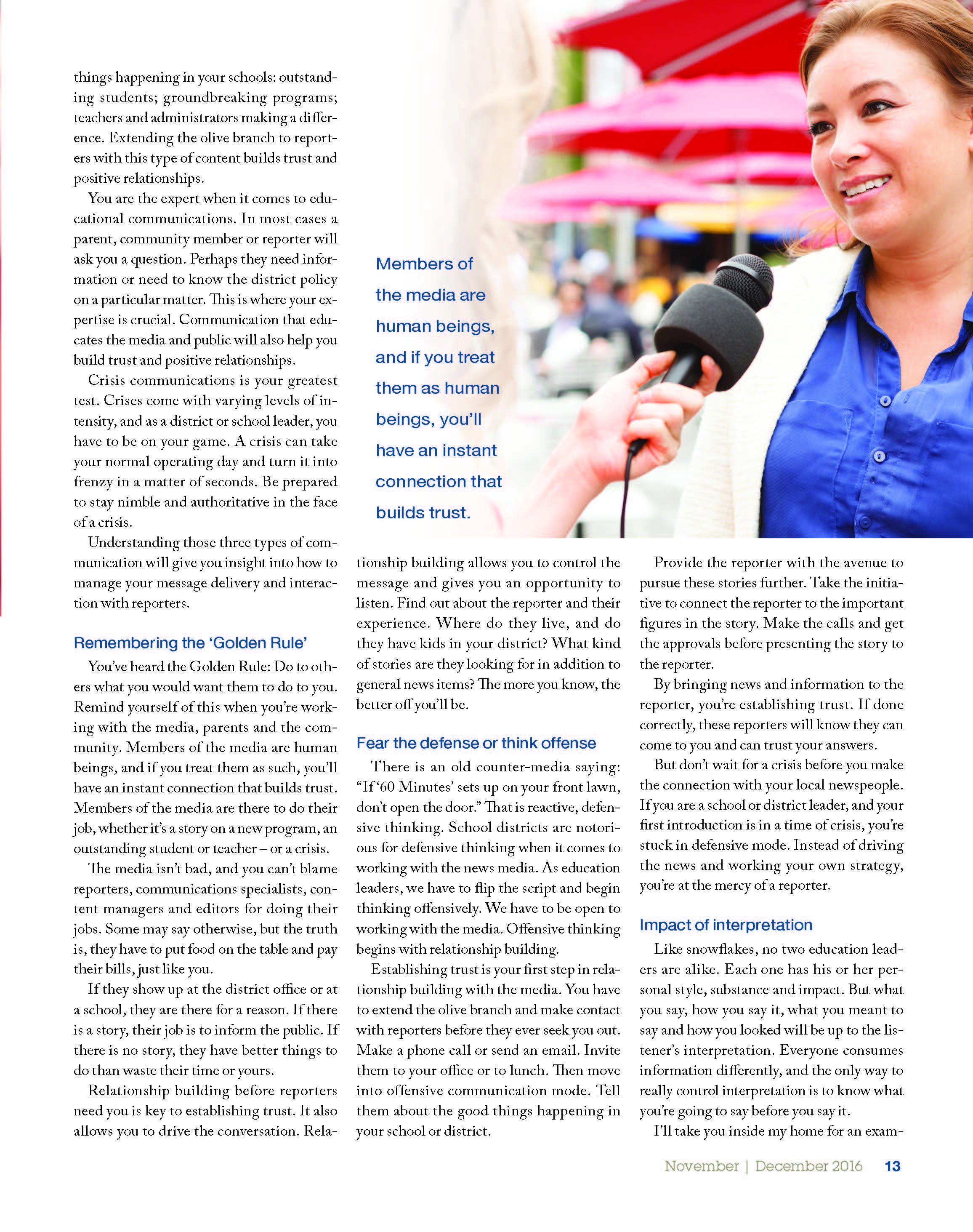 leadership magazine-volume 46; page two of three