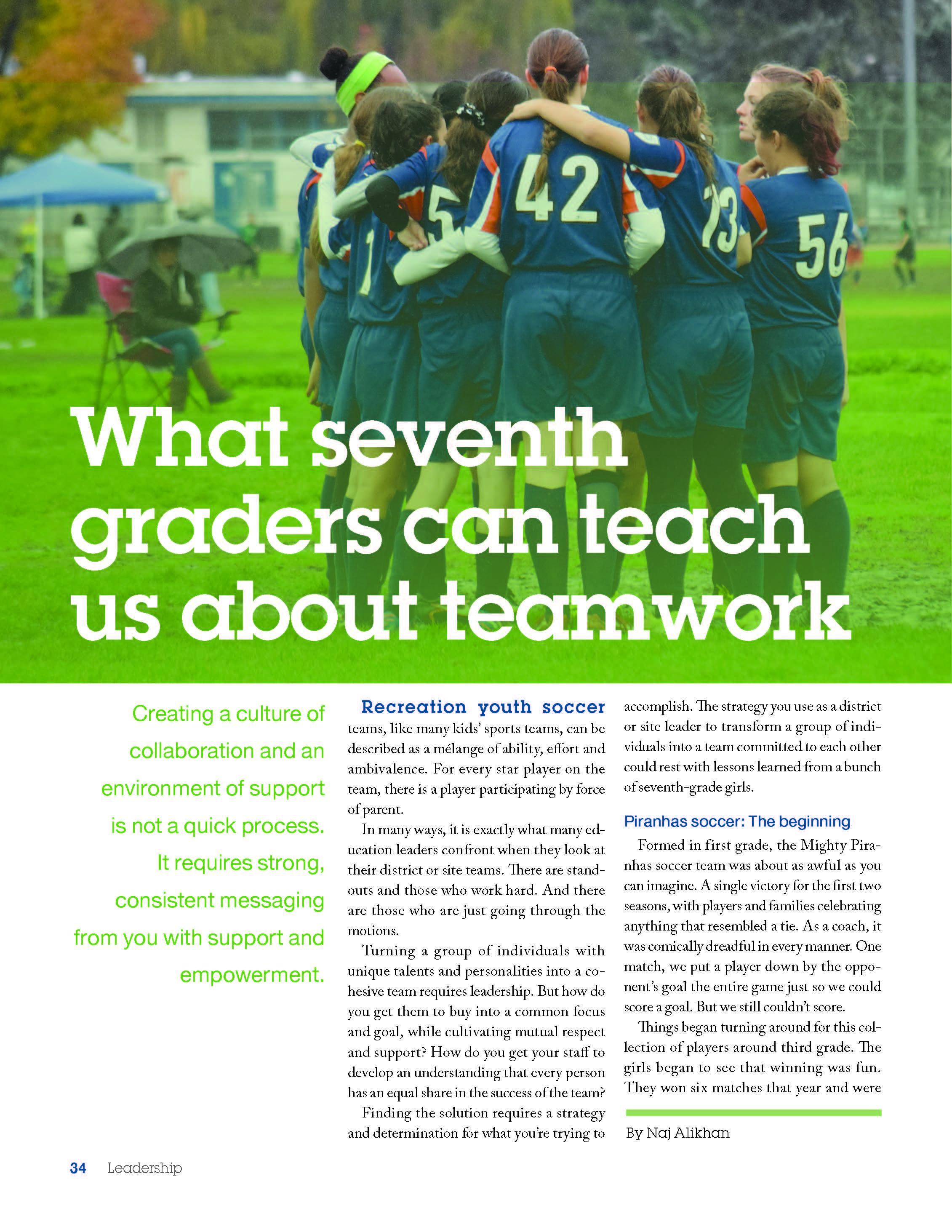 Leadership magazine-volume 47; page one of three