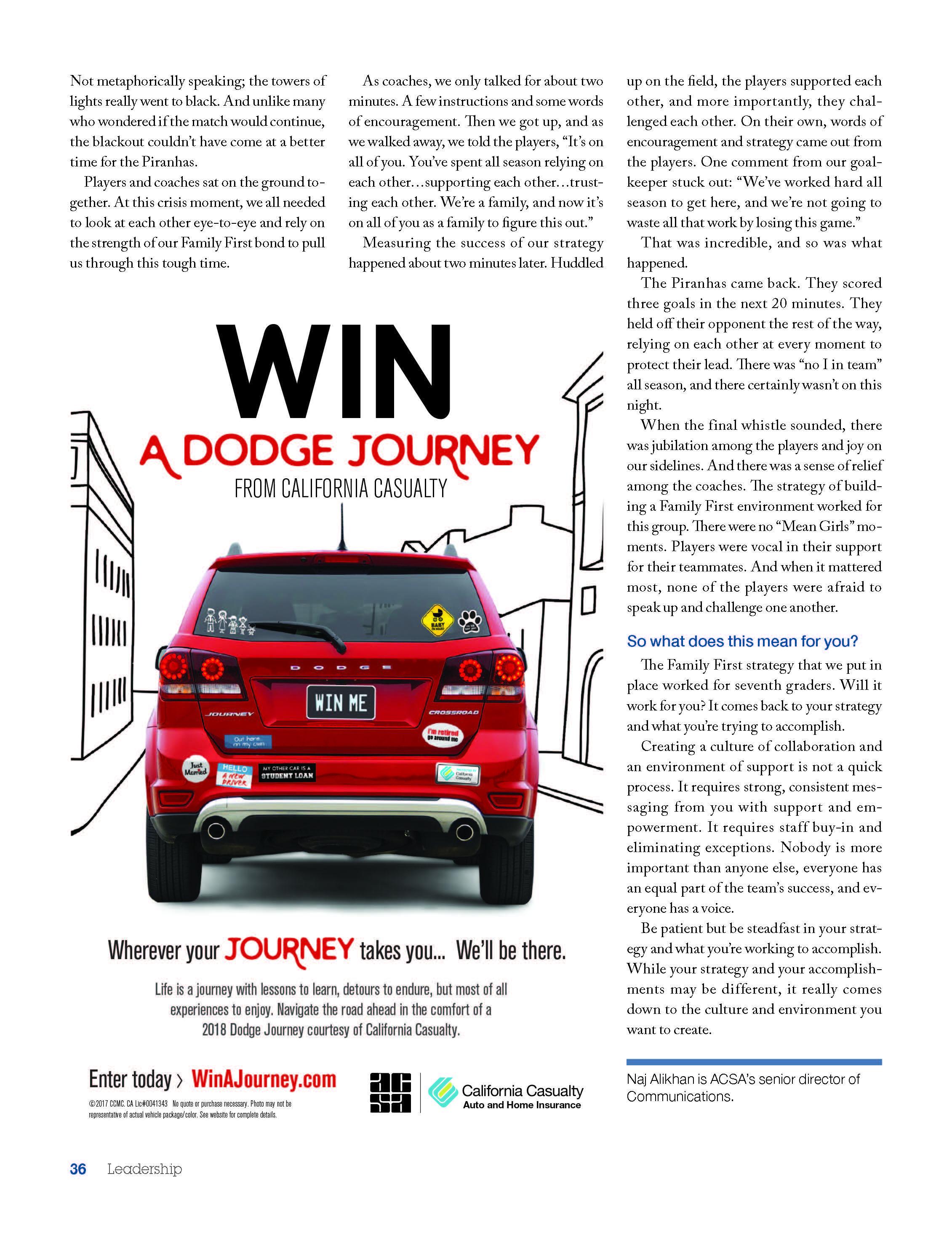 leadership magazine-volume 47; page three of three