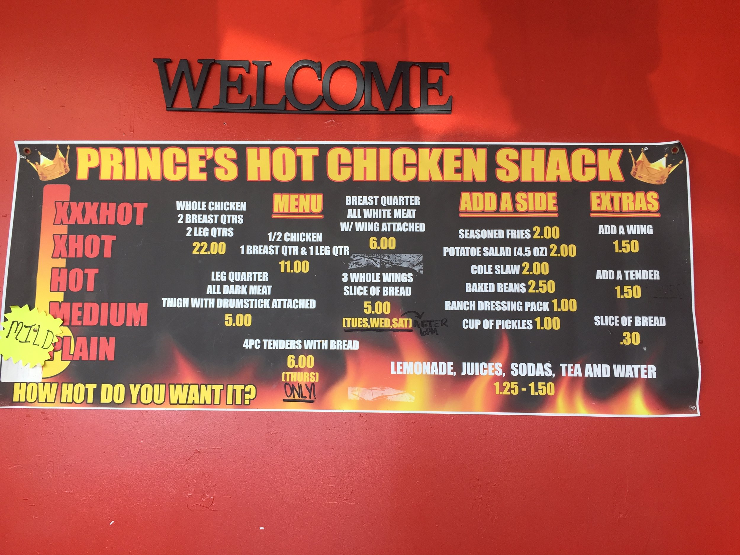 Prince's Hot Chicken Sign - 2018.jpg