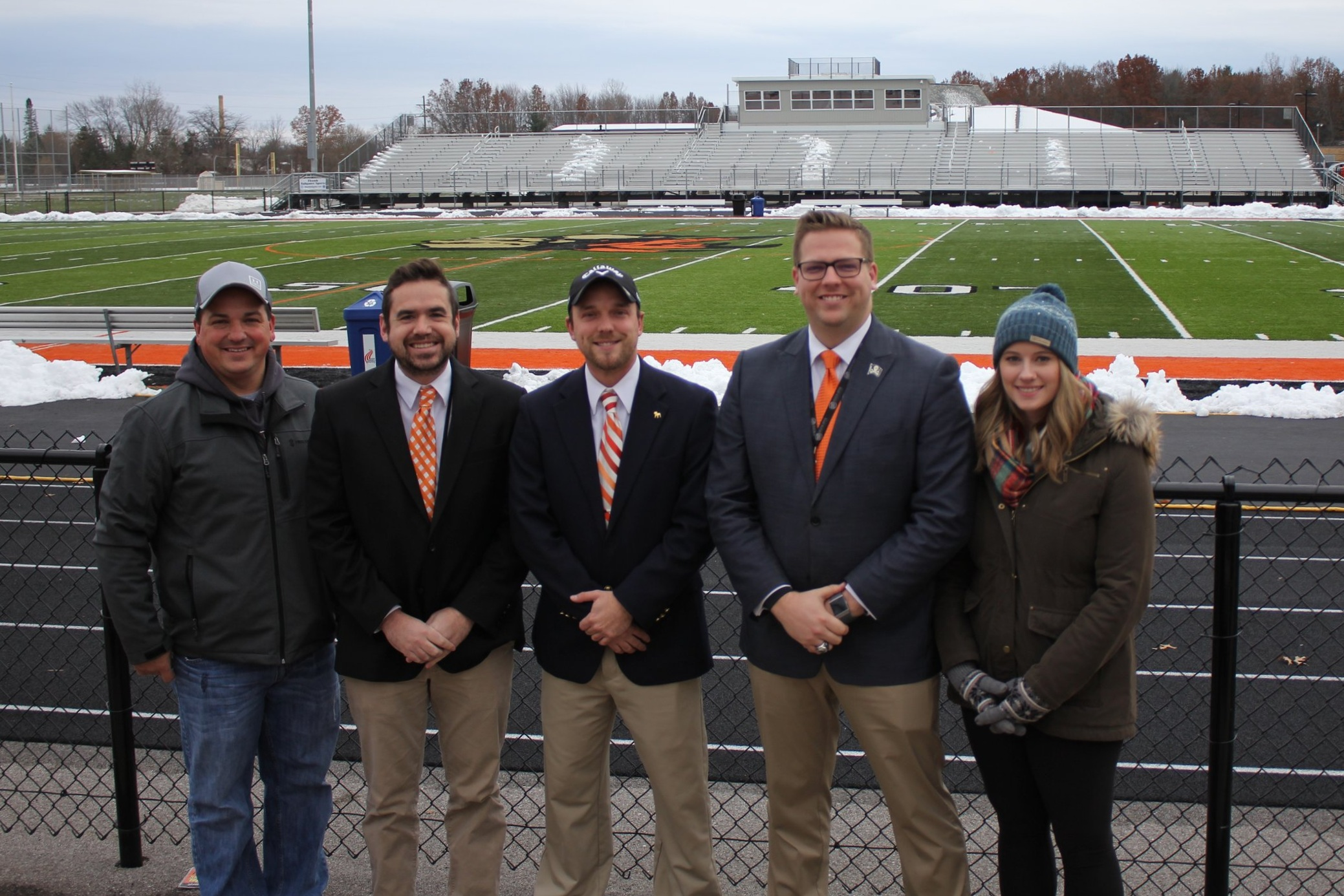 WLEW Sports Network Broadcast Team