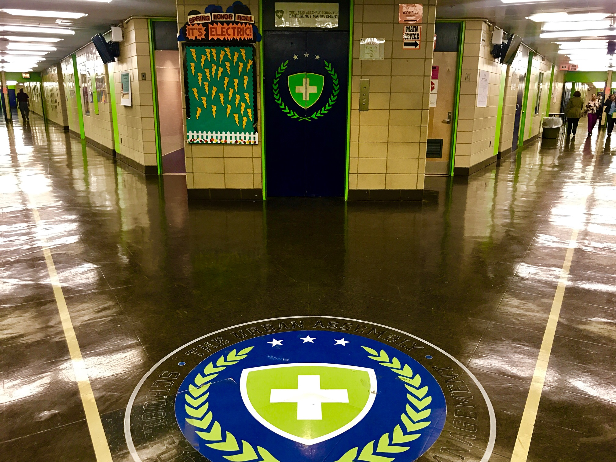 The hallways of UASEM