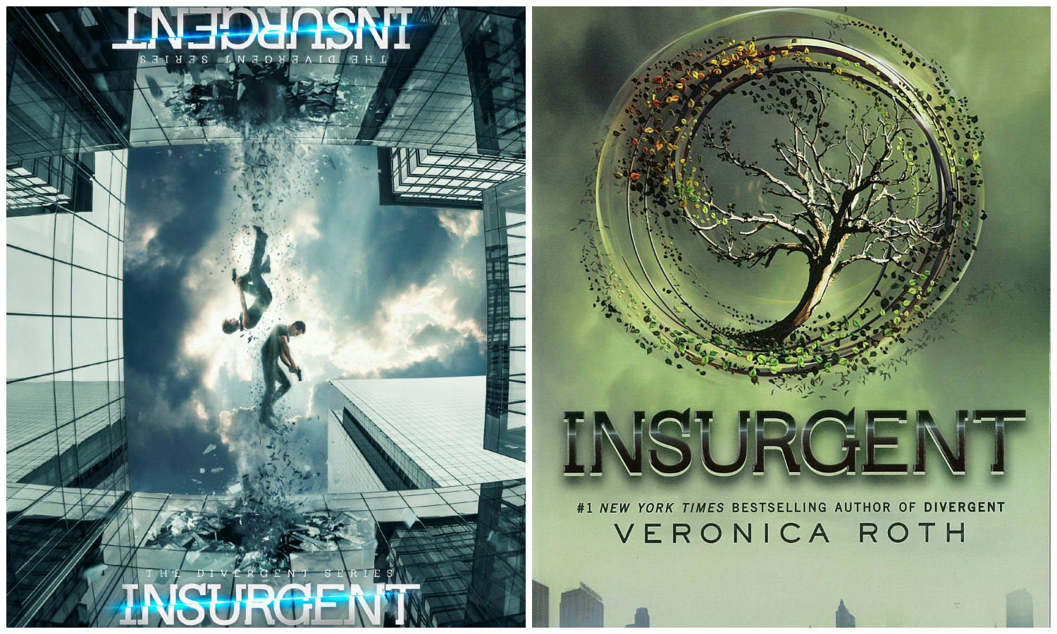Insurgent (2015) Movie vs Book