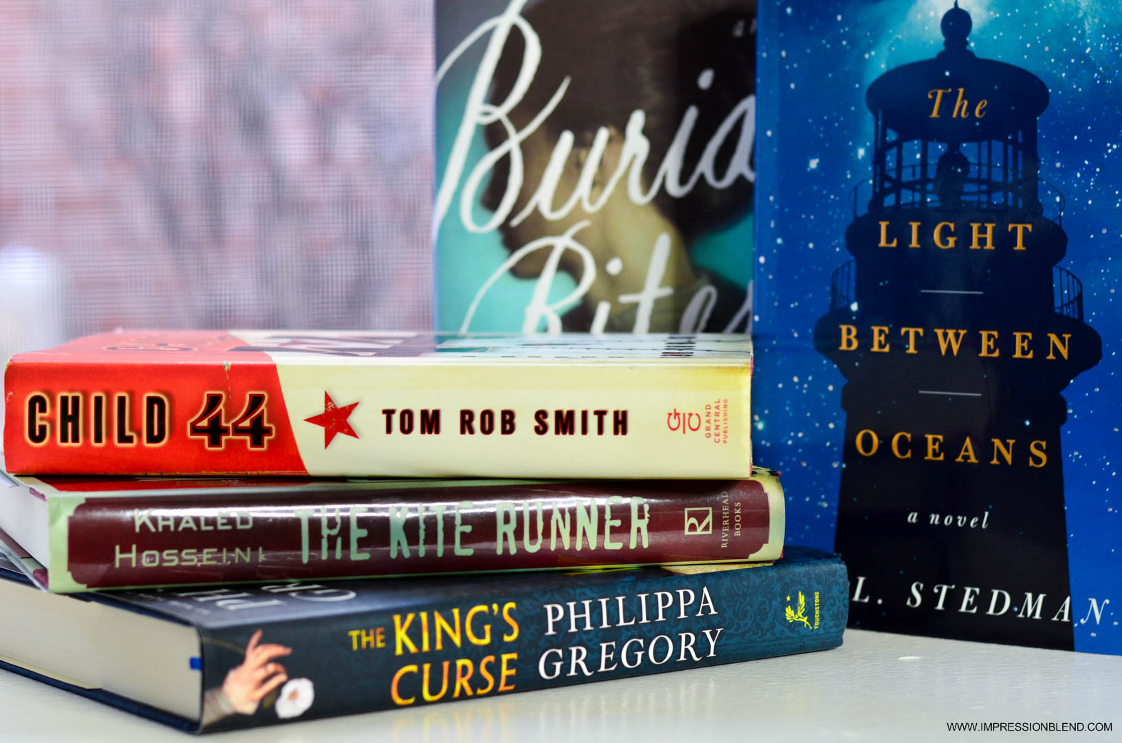 March Book Haul 2015 - historical fiction