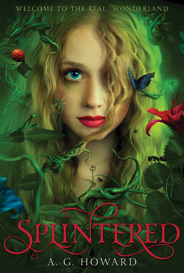 Splintered book cover