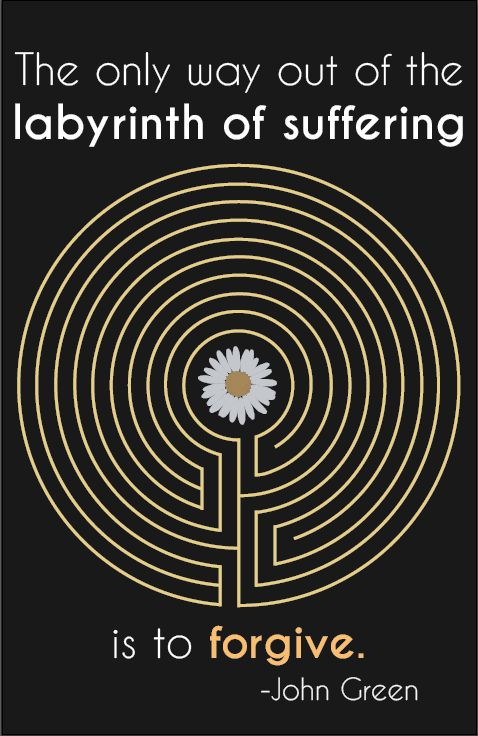 Looking for Alaska labyrinth quote