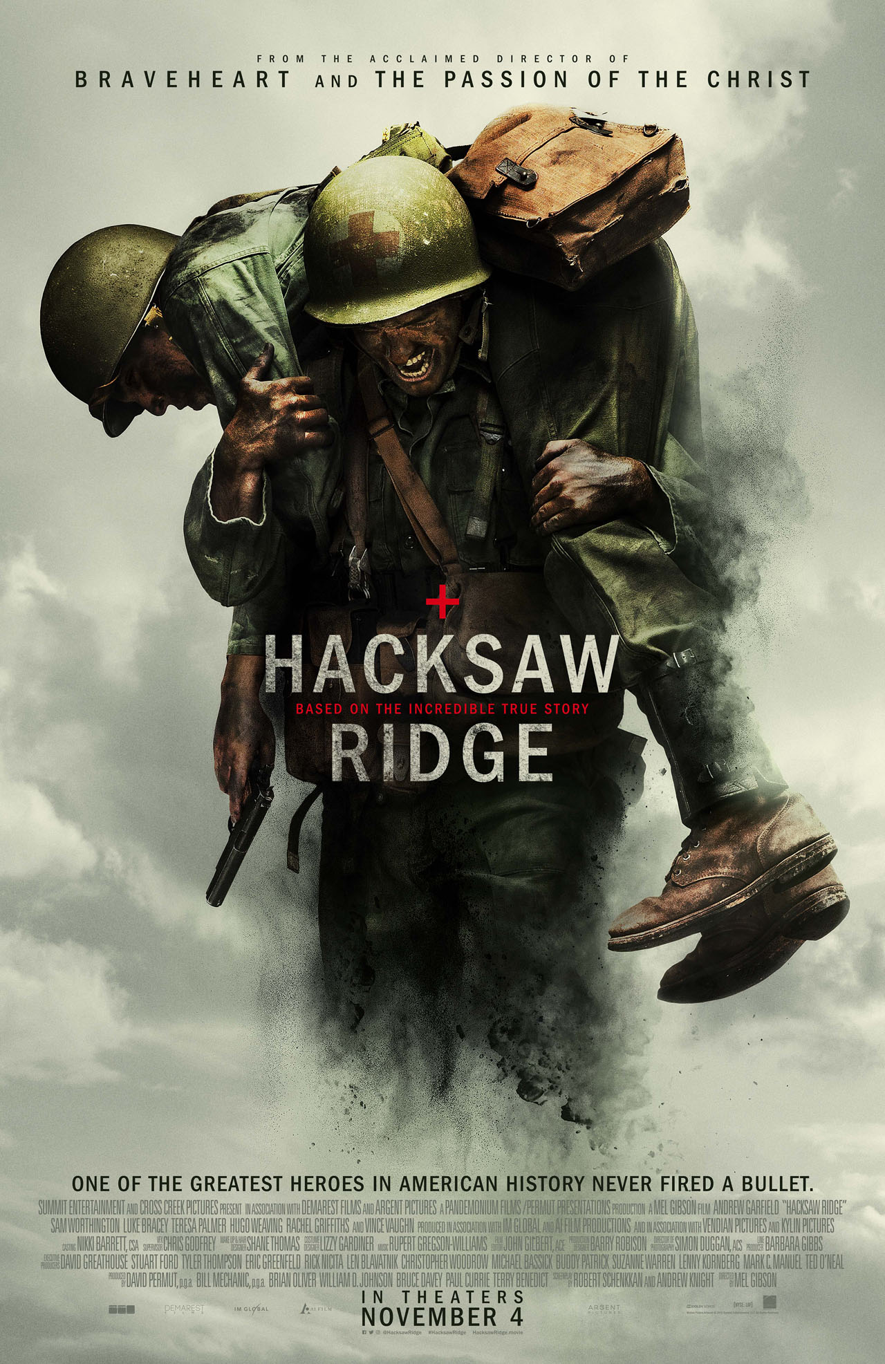 Hacksaw Ridge poster