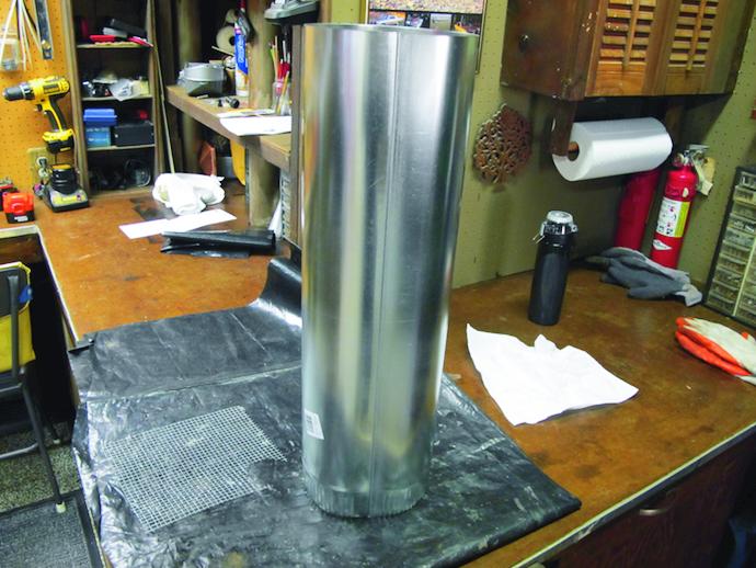 Stove Pipe Material