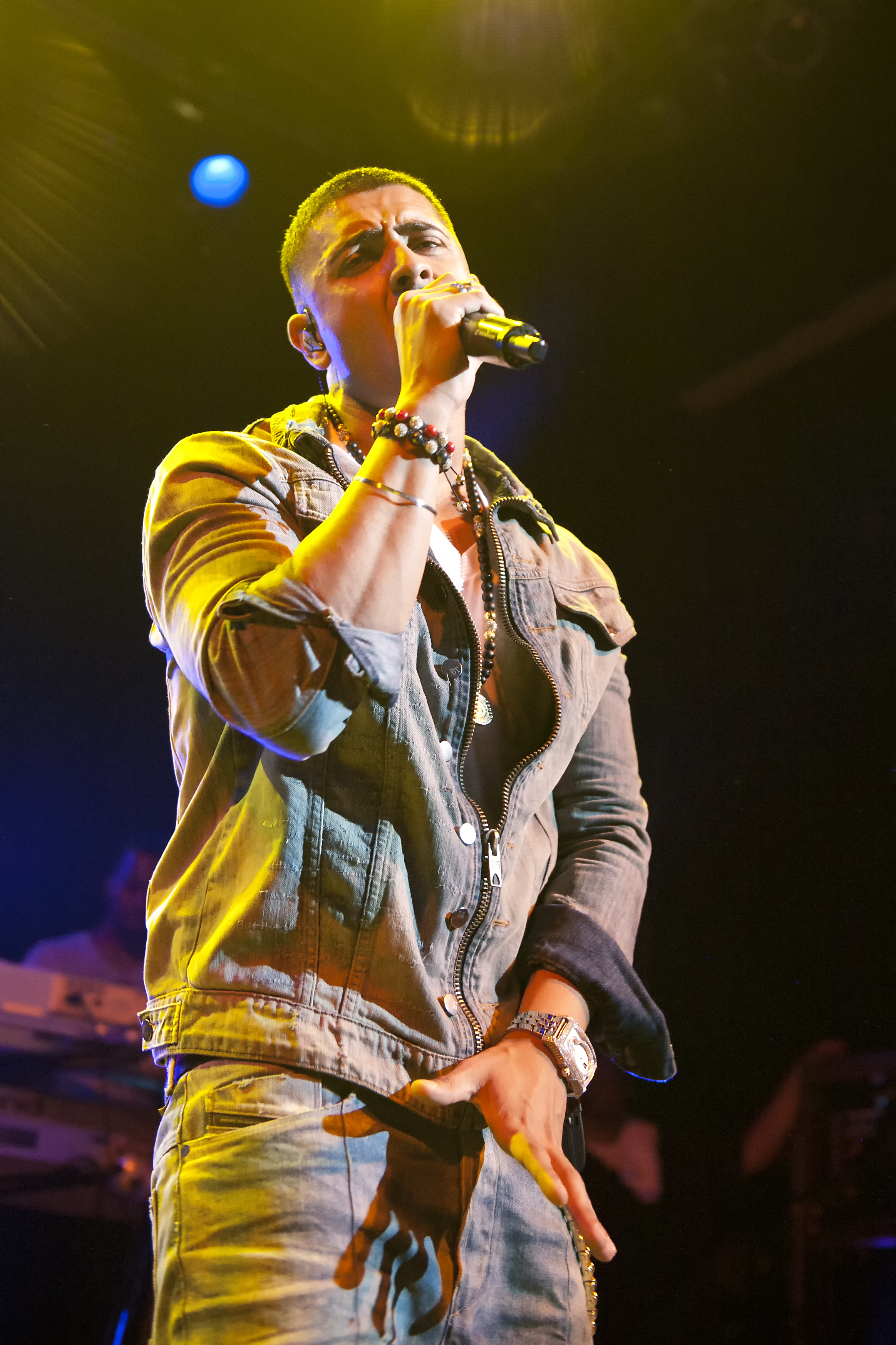 "HOLLYWOOD, CA – British artist Jay Sean performs his 2009 hit ""Do You Remember"" at the House of Blues on Tuesday, September 20, 2011."
