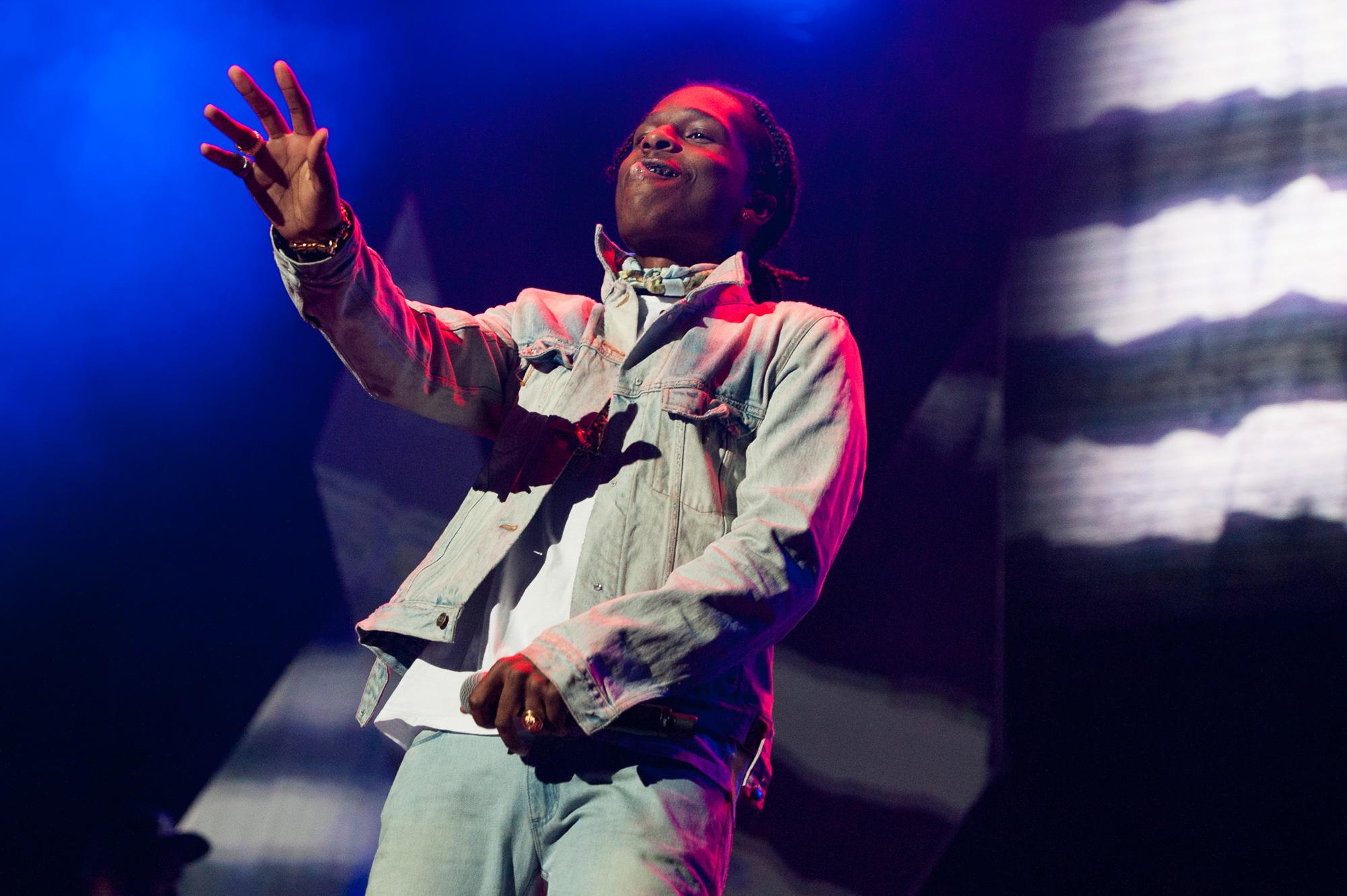 A$AP Rocky @ Staples Center | 2014