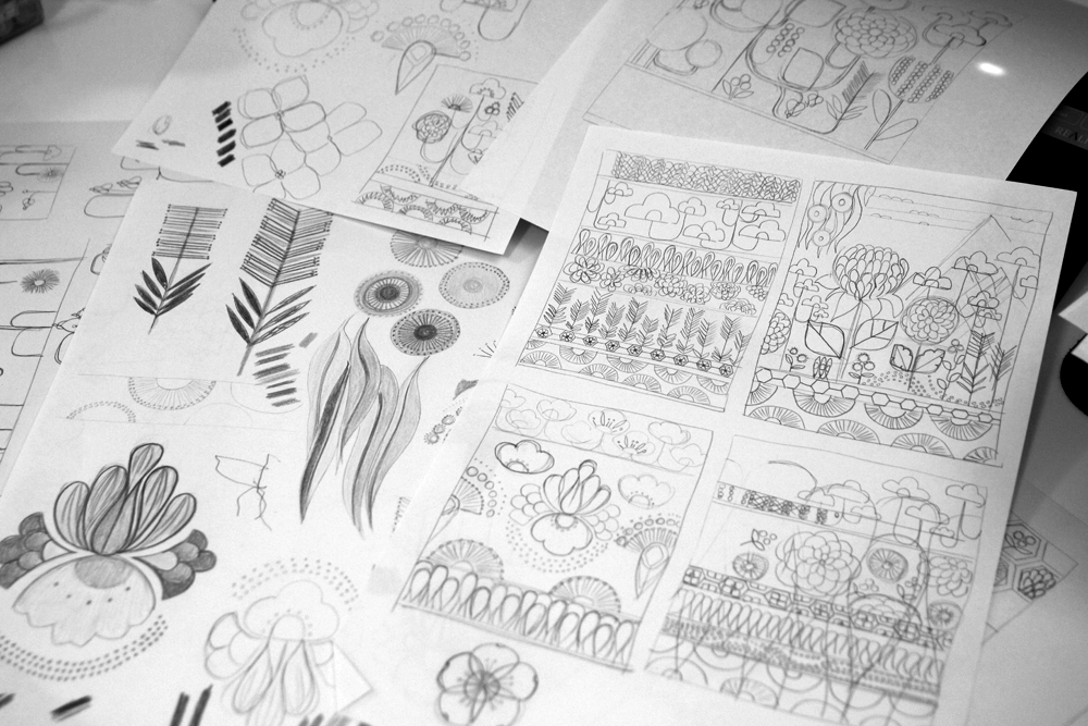 Initial ideas and sketches